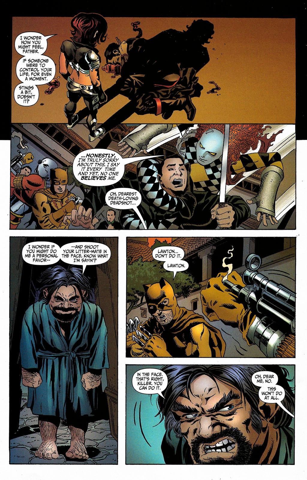 Read online Secret Six (2006) comic -  Issue #5 - 33