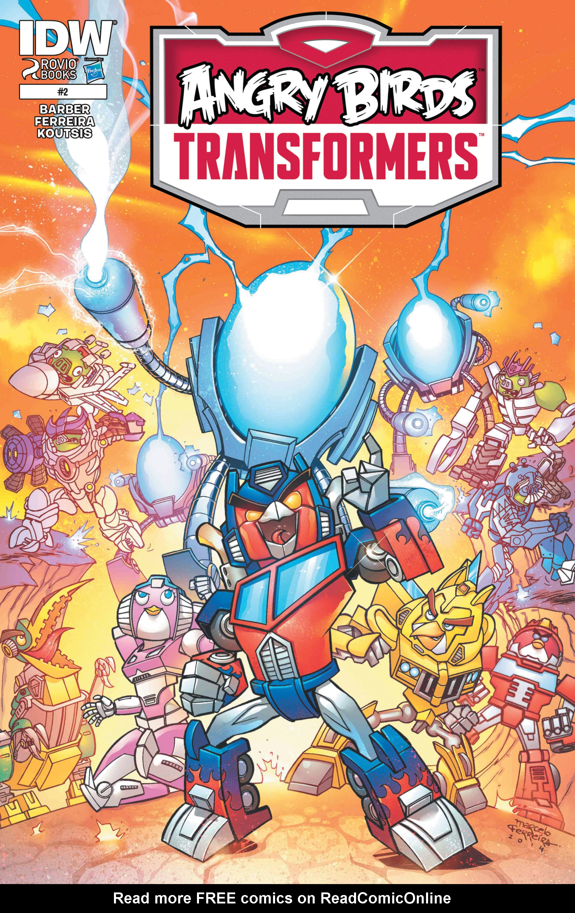 Read online Angry Birds Transformers comic -  Issue #2 - 1