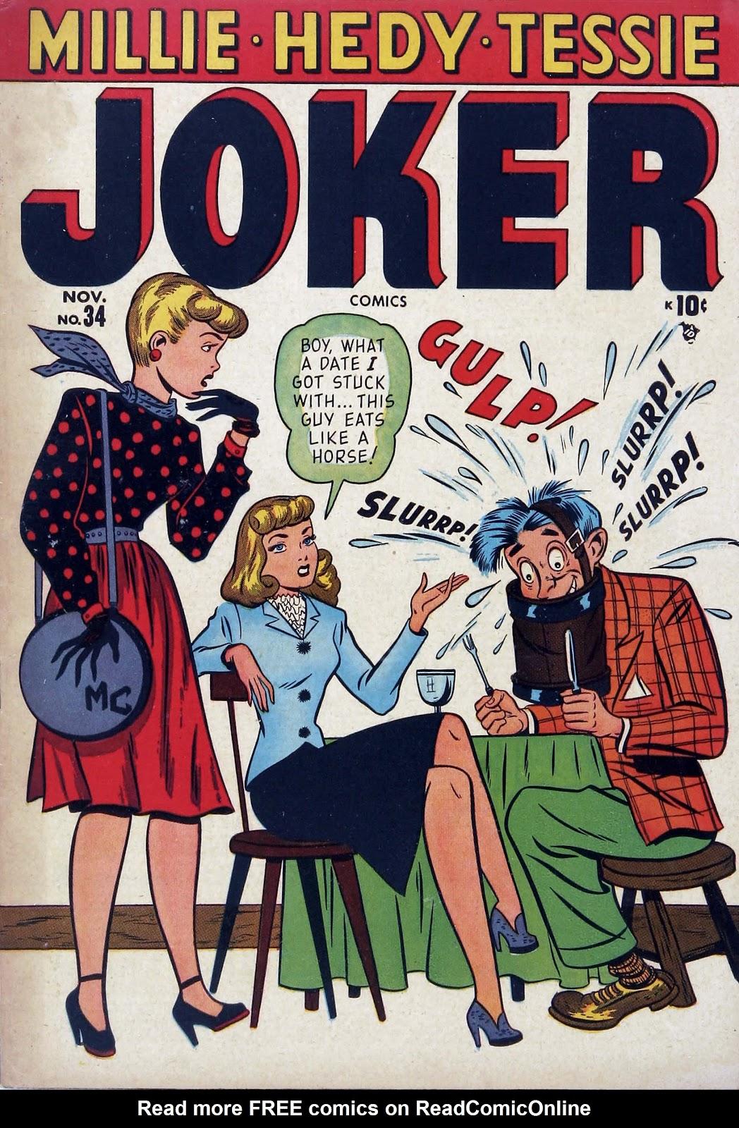 Read online Joker Comics comic -  Issue #34 - 1
