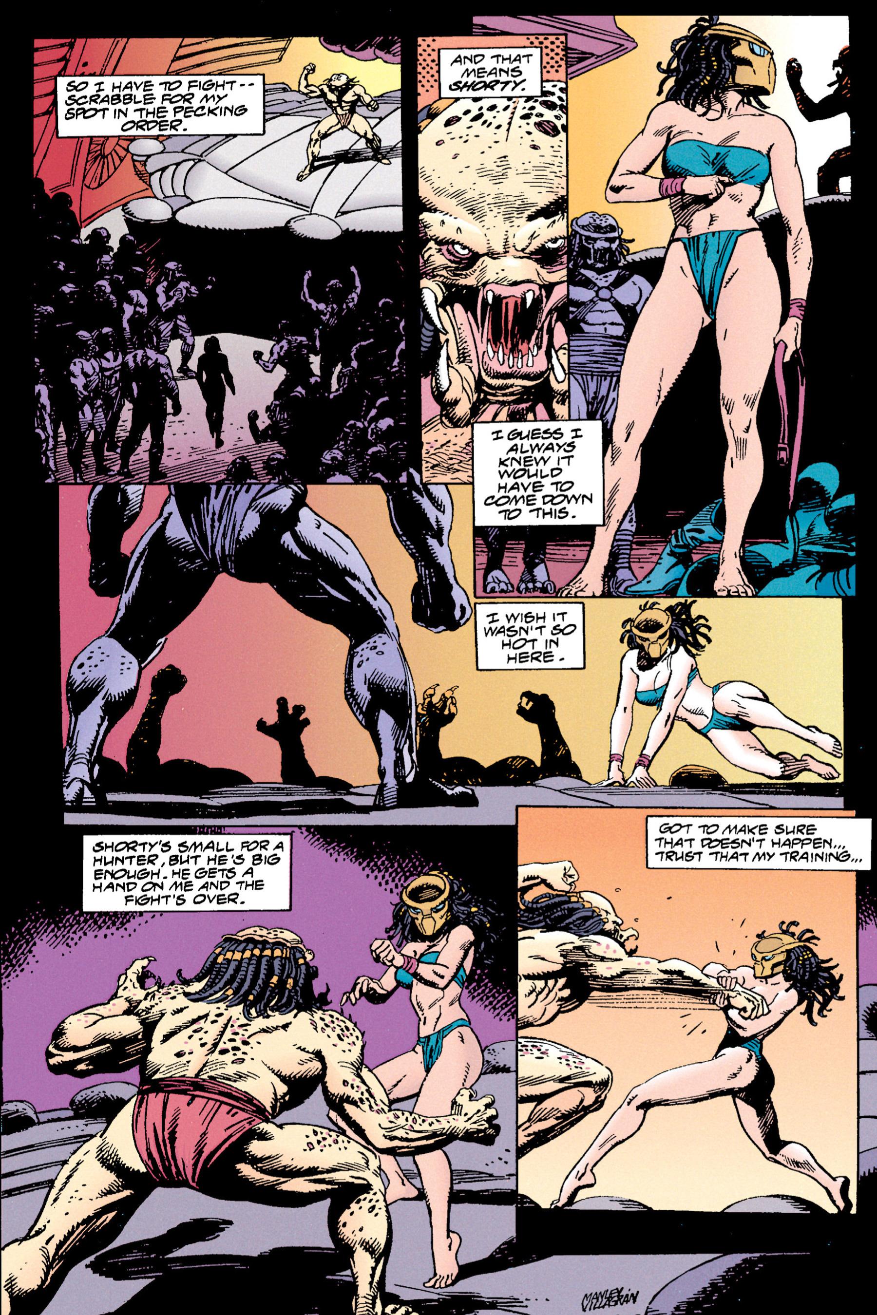 Read online Aliens vs. Predator Omnibus comic -  Issue # _TPB 1 Part 3 - 55