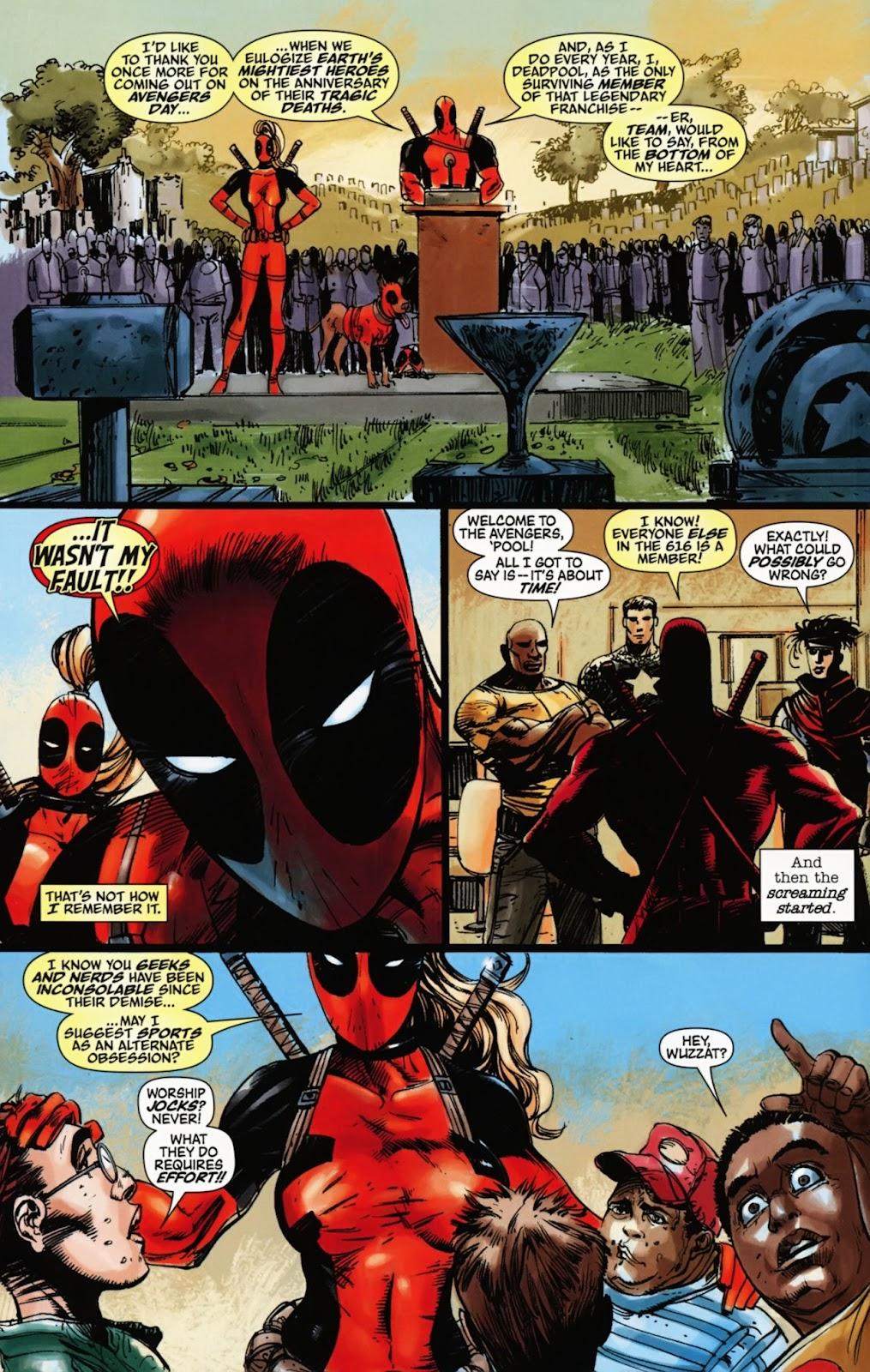 Read online Deadpool (2008) comic -  Issue #1000 - 36