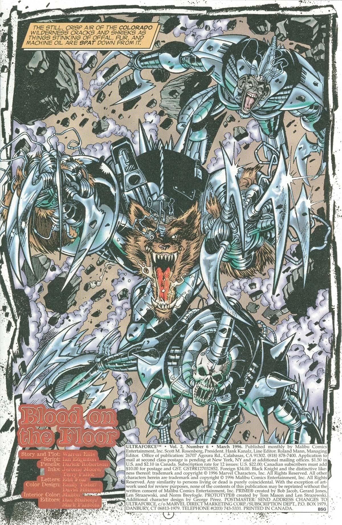 Read online UltraForce (1995) comic -  Issue #6 - 3