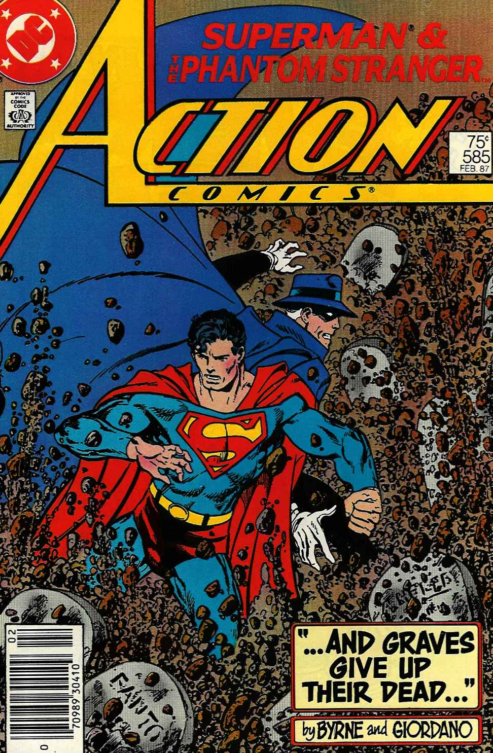 Read online Action Comics (1938) comic -  Issue #585 - 1