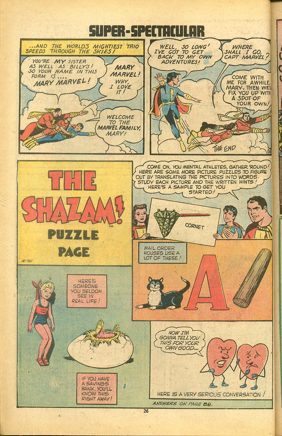 Read online Shazam! (1973) comic -  Issue #8 - 26