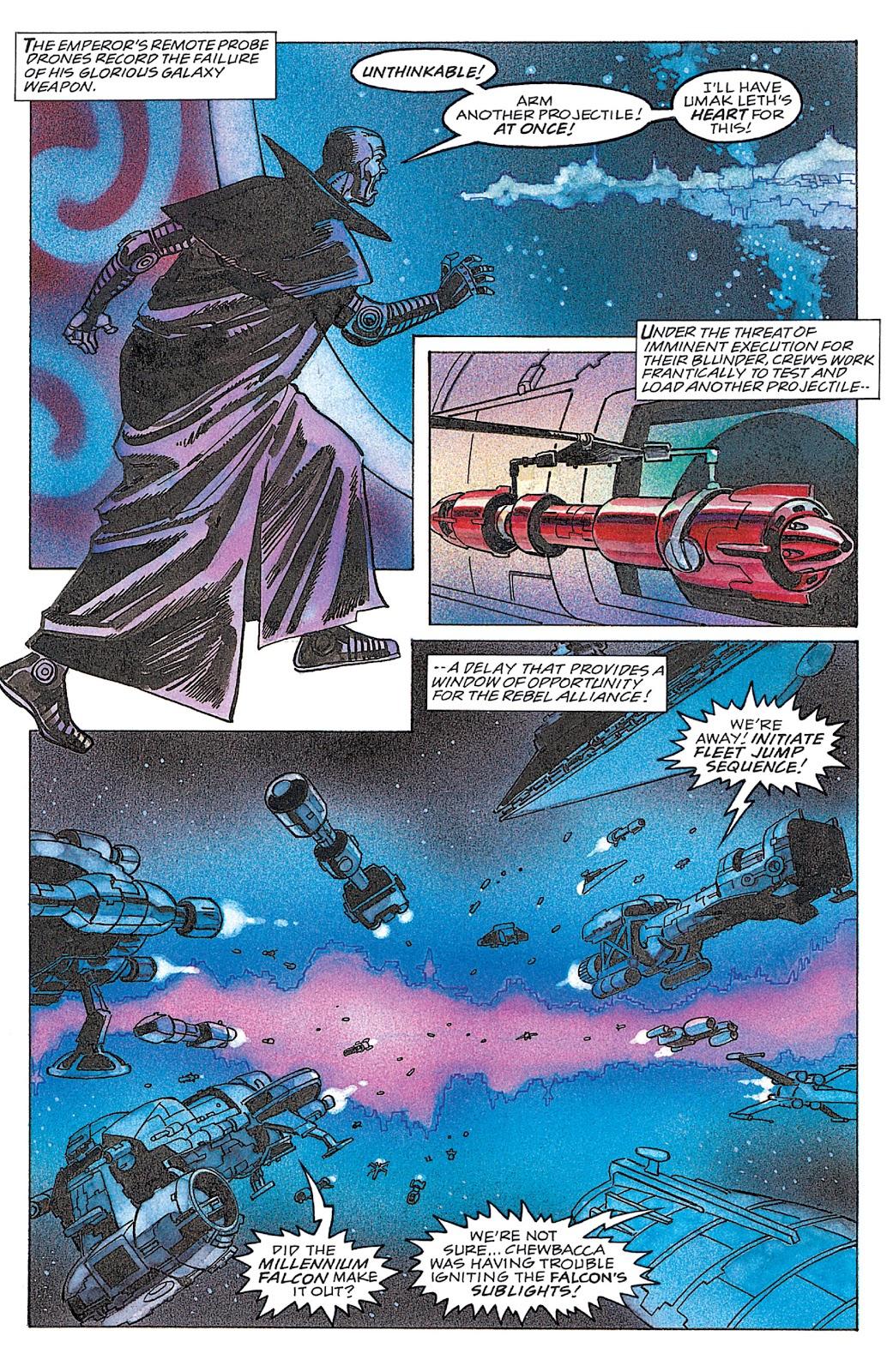 Read online Star Wars: Dark Empire Trilogy comic -  Issue # TPB (Part 4) - 21
