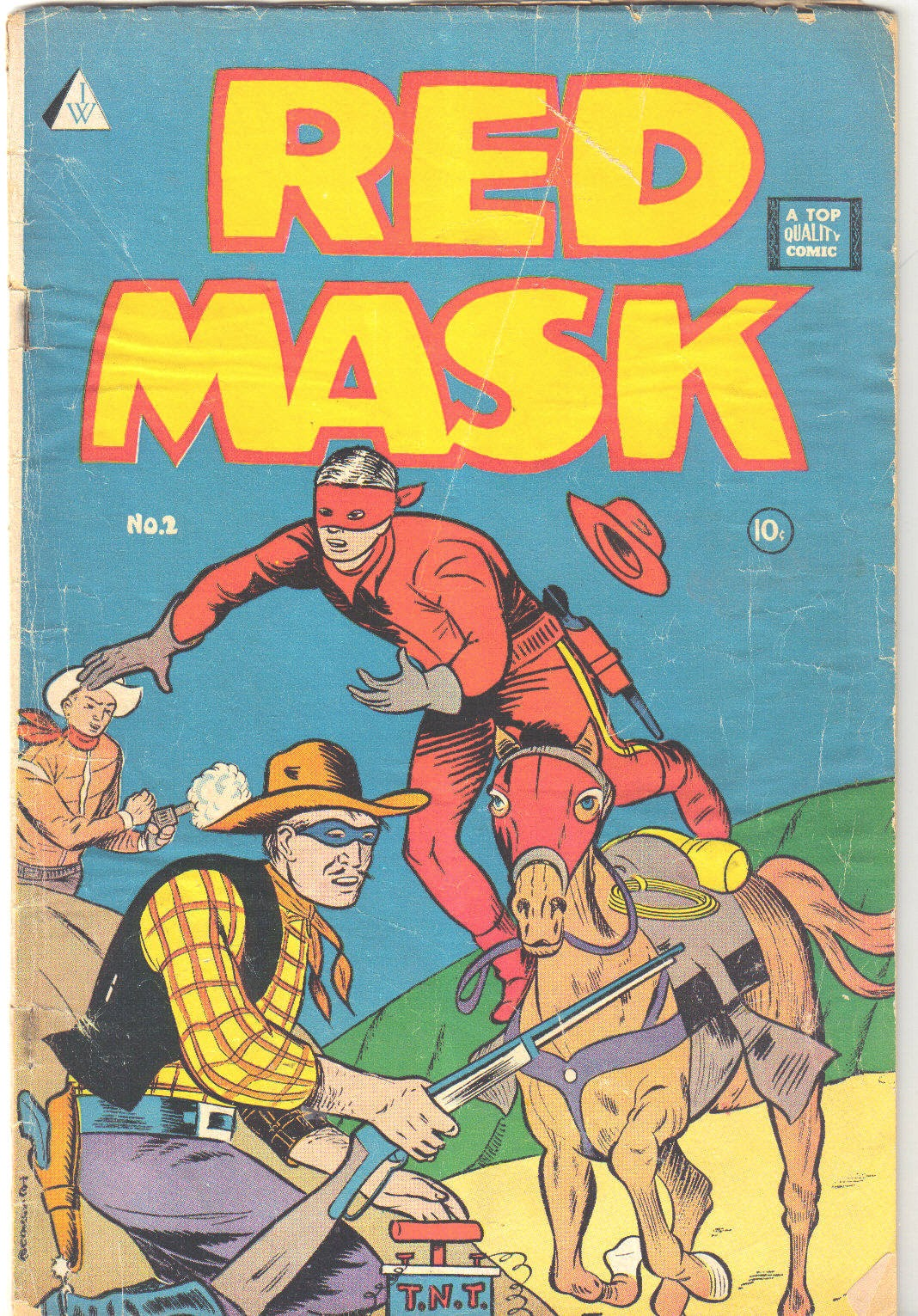 Red Mask (1958) 2 Page 1