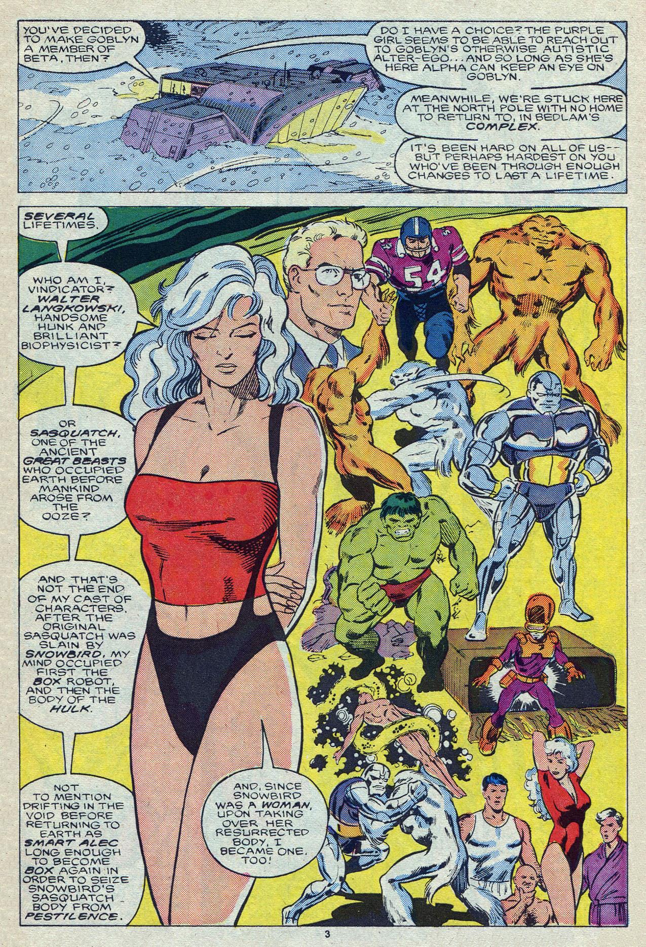 Read online Alpha Flight (1983) comic -  Issue #55 - 5