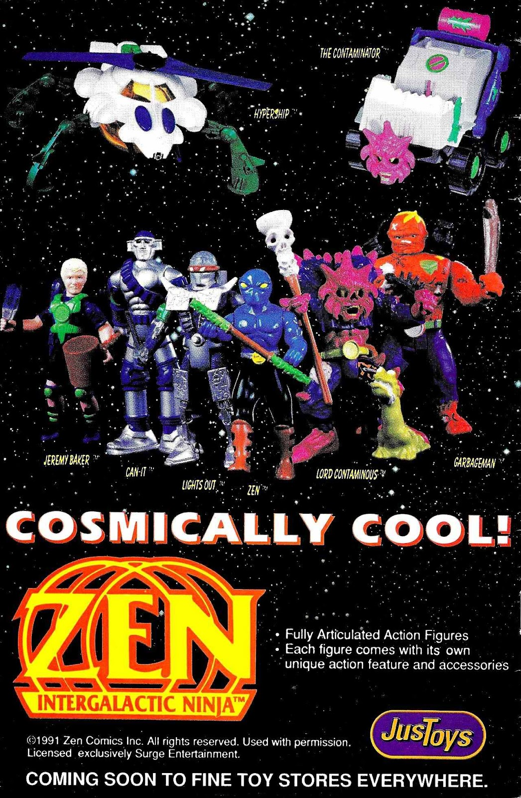 Read online Zen Intergalactic Ninja (1992) comic -  Issue #1 - 35