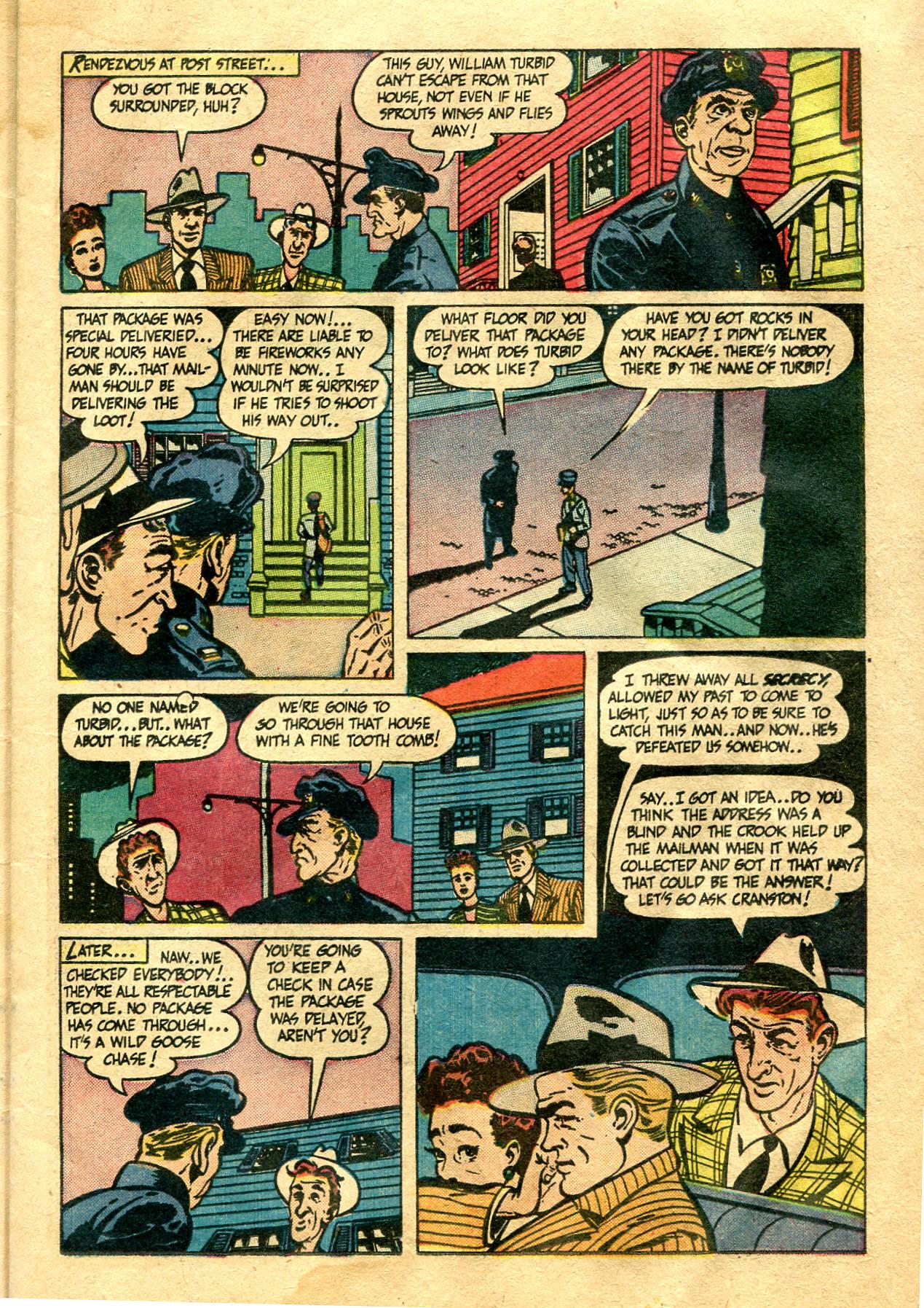 Read online Shadow Comics comic -  Issue #99 - 17