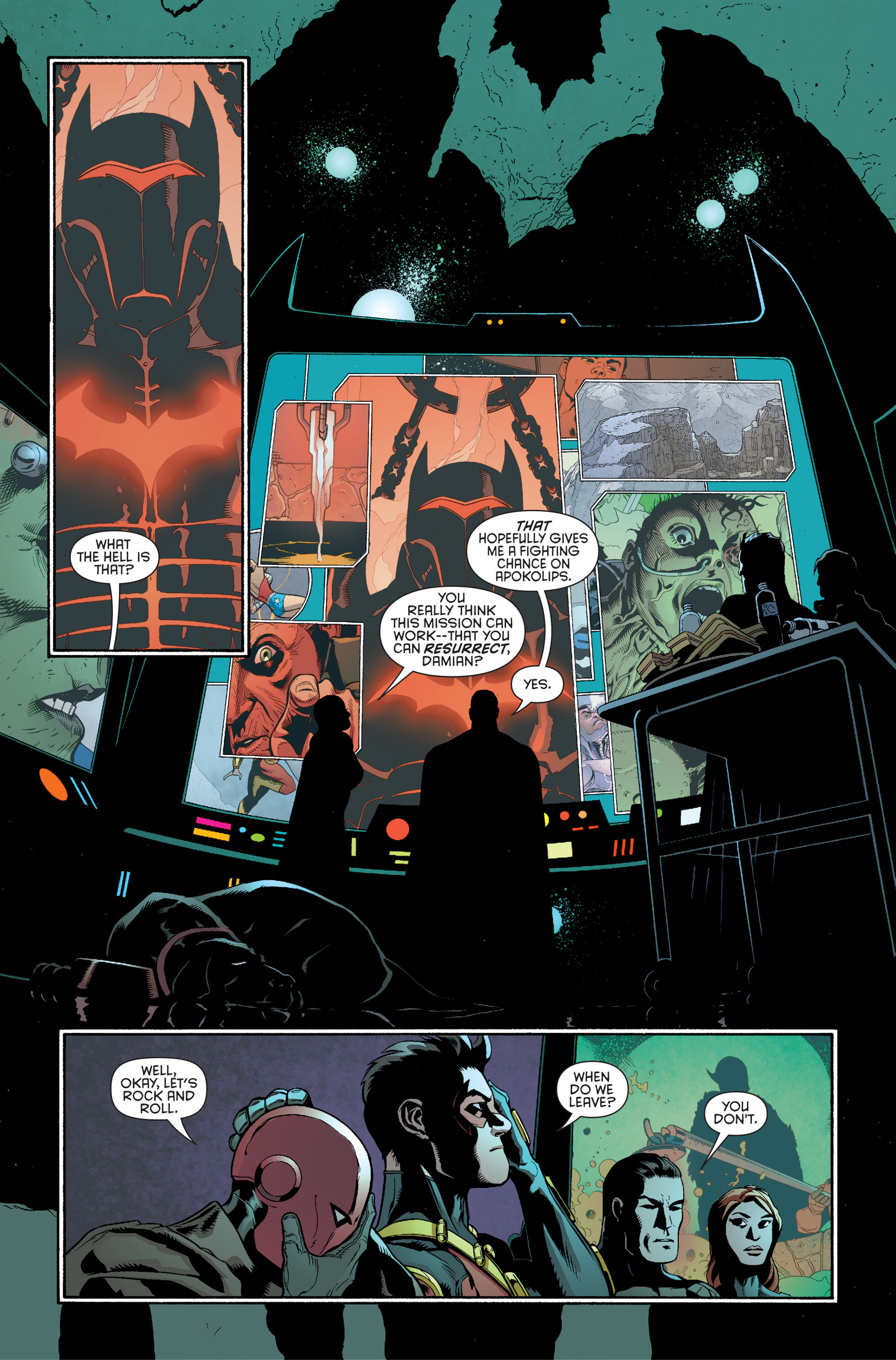 Read online Batman and Robin (2011) comic -  Issue #34 - 9