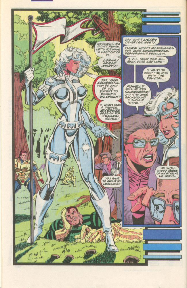 Read online Silver Sable and the Wild Pack comic -  Issue #1 - 7