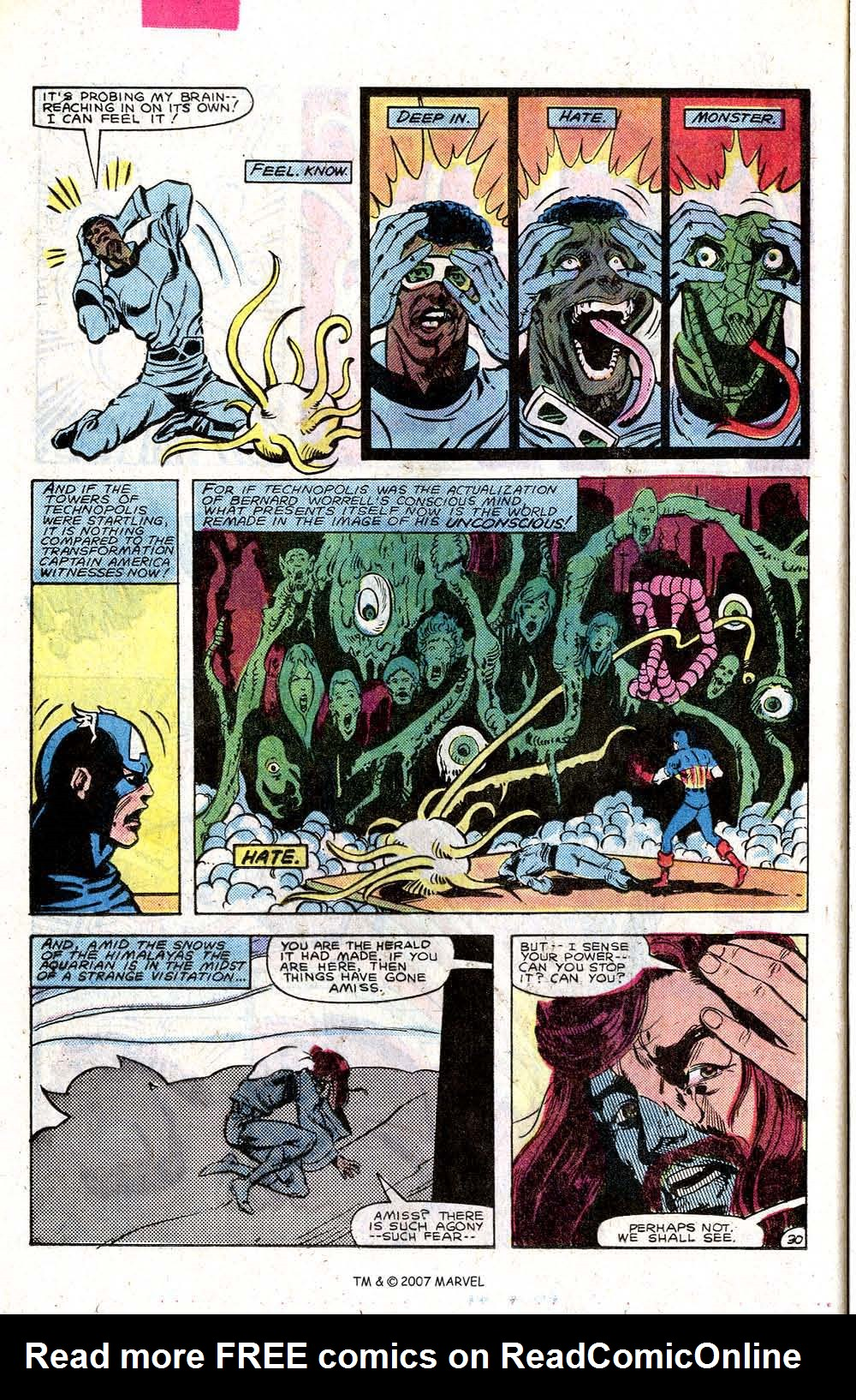 Read online Captain America (1968) comic -  Issue # _Annual 7 - 40