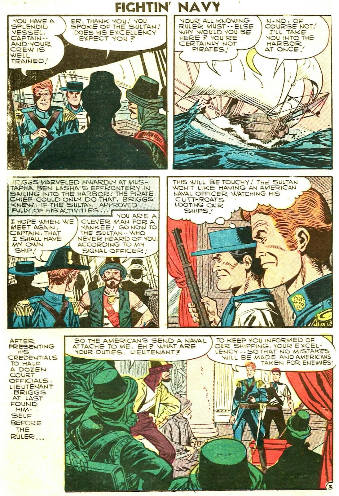 Read online Fightin' Navy comic -  Issue #78 - 26