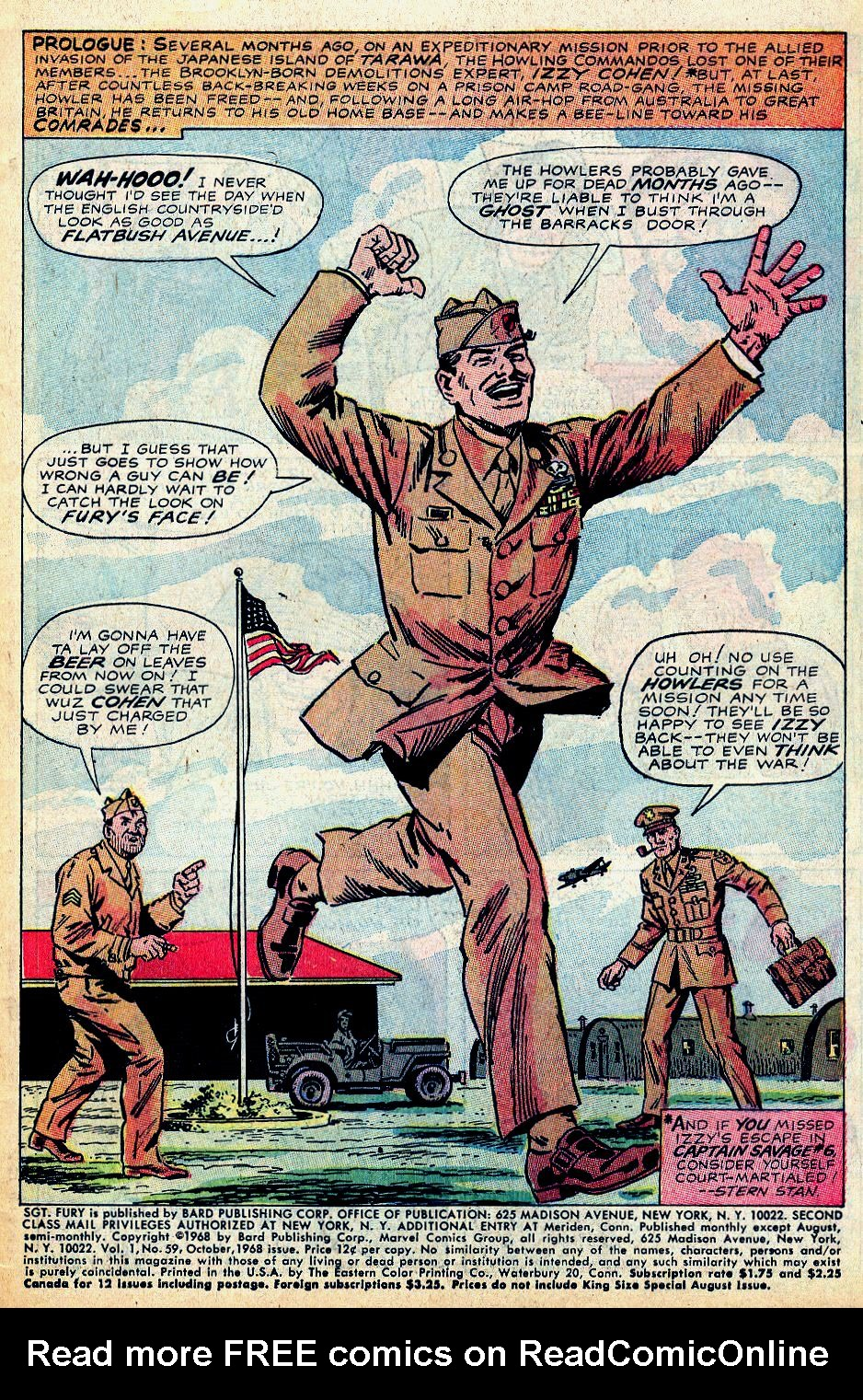 Read online Sgt. Fury comic -  Issue #59 - 3