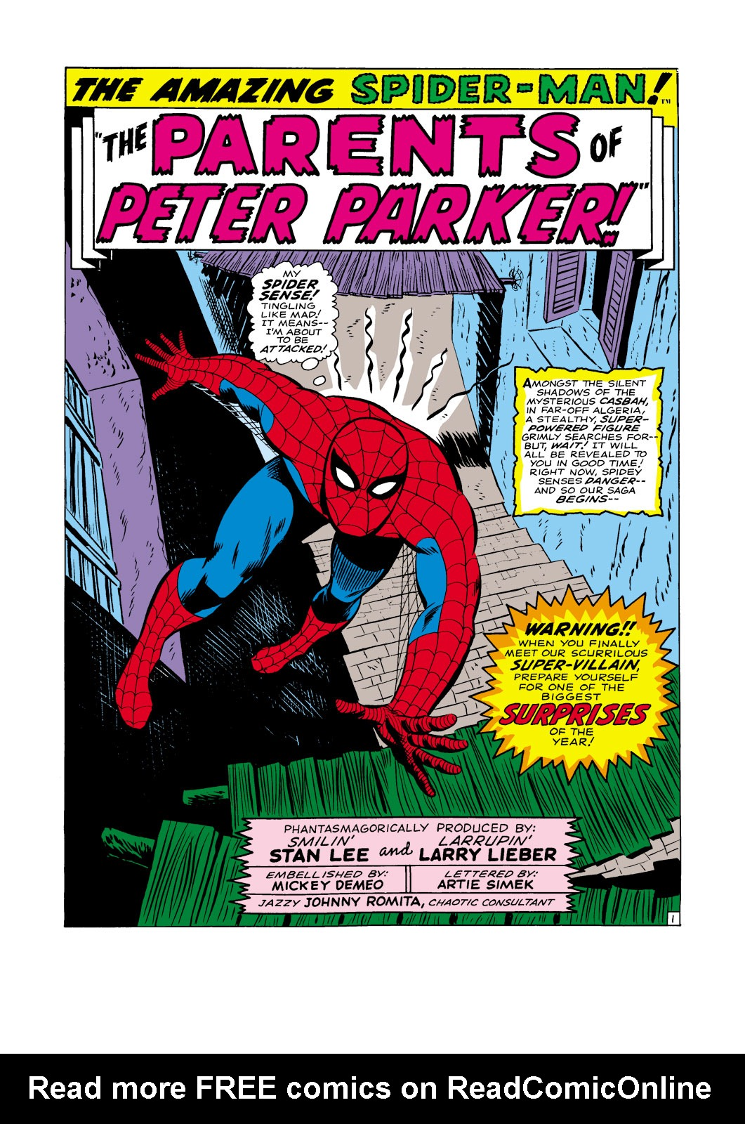 The Amazing Spider-Man (1963) _Annual_5 Page 1