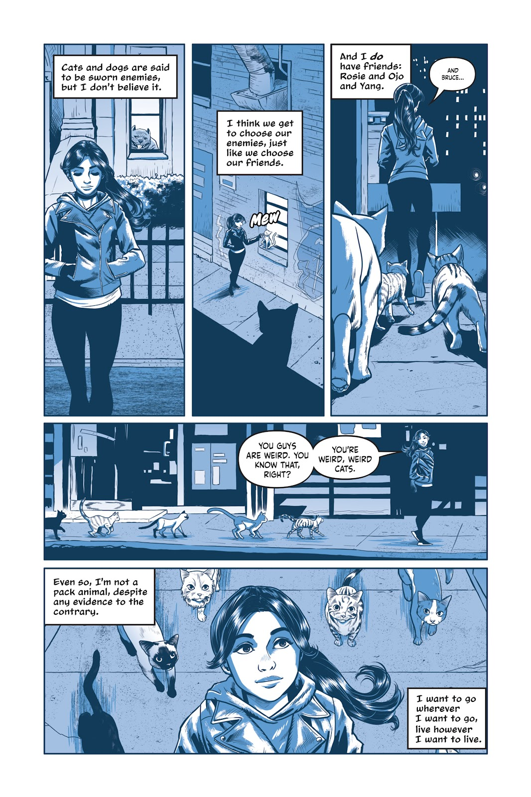 Read online Under the Moon: A Catwoman Tale comic -  Issue # TPB (Part 2) - 94