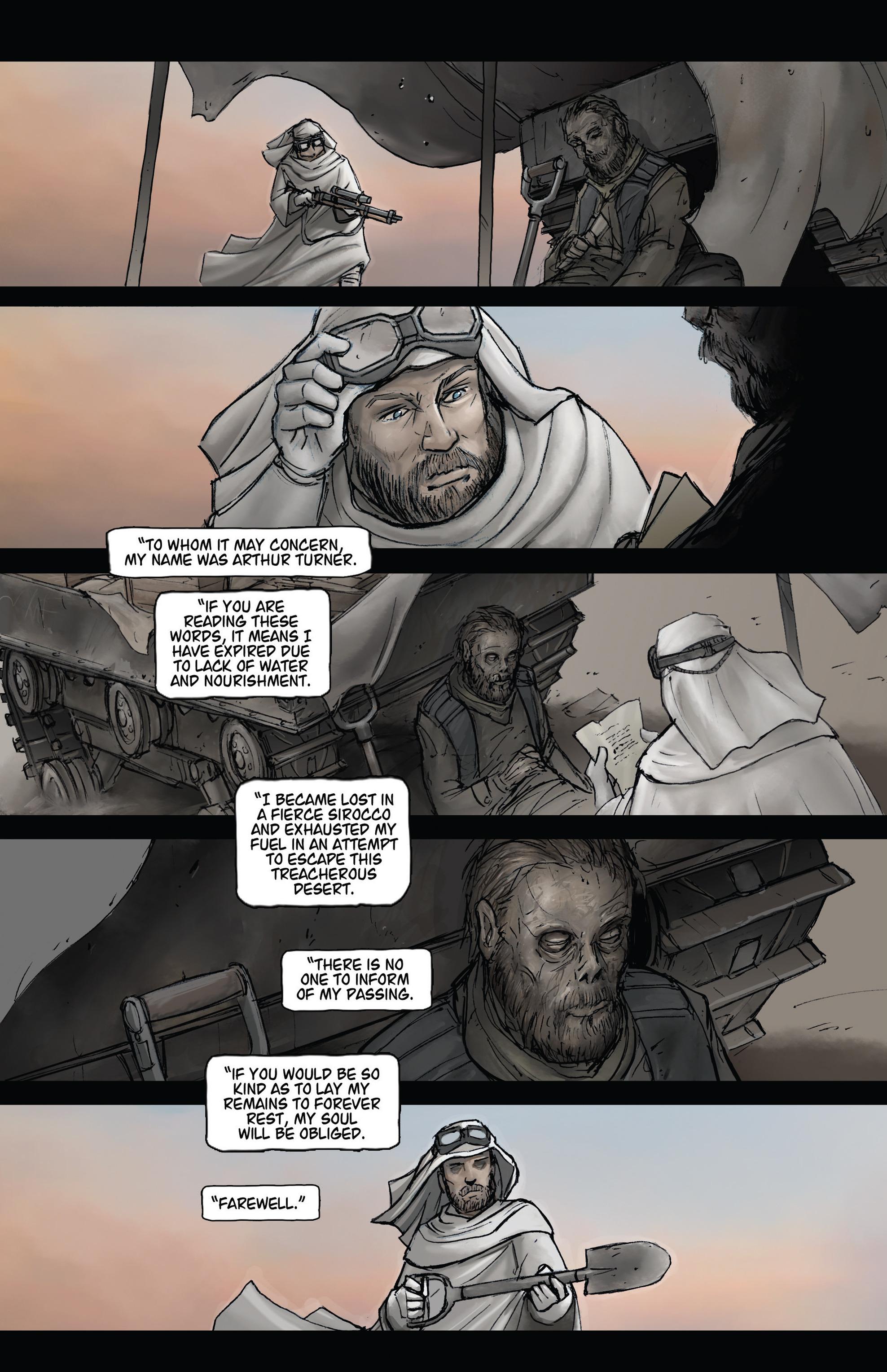 Read online Steam Wars: First Empire comic -  Issue #3 - 7