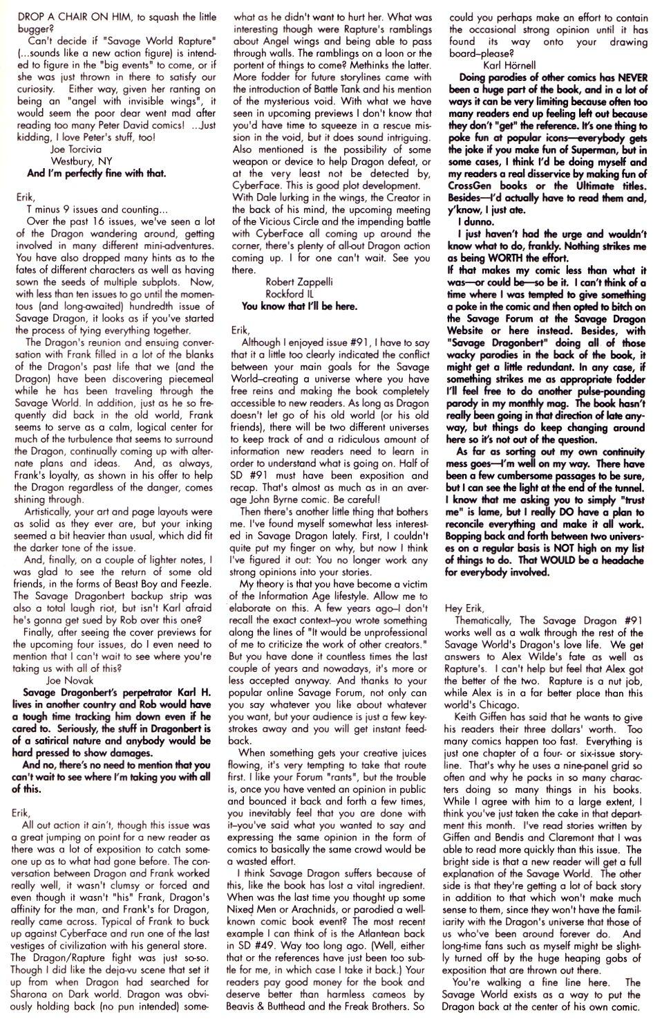 The Savage Dragon (1993) Issue #93 #96 - English 27