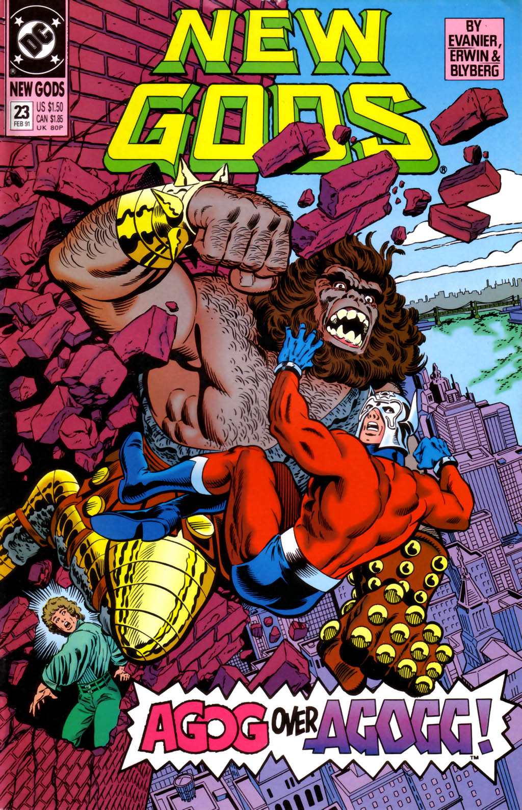 The New Gods (1989) 23 Page 1