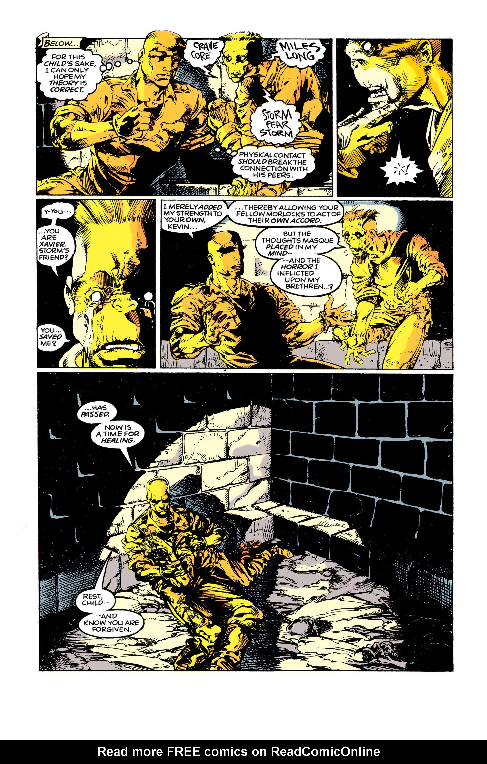 Read online Uncanny X-Men (1963) comic -  Issue #292 - 20