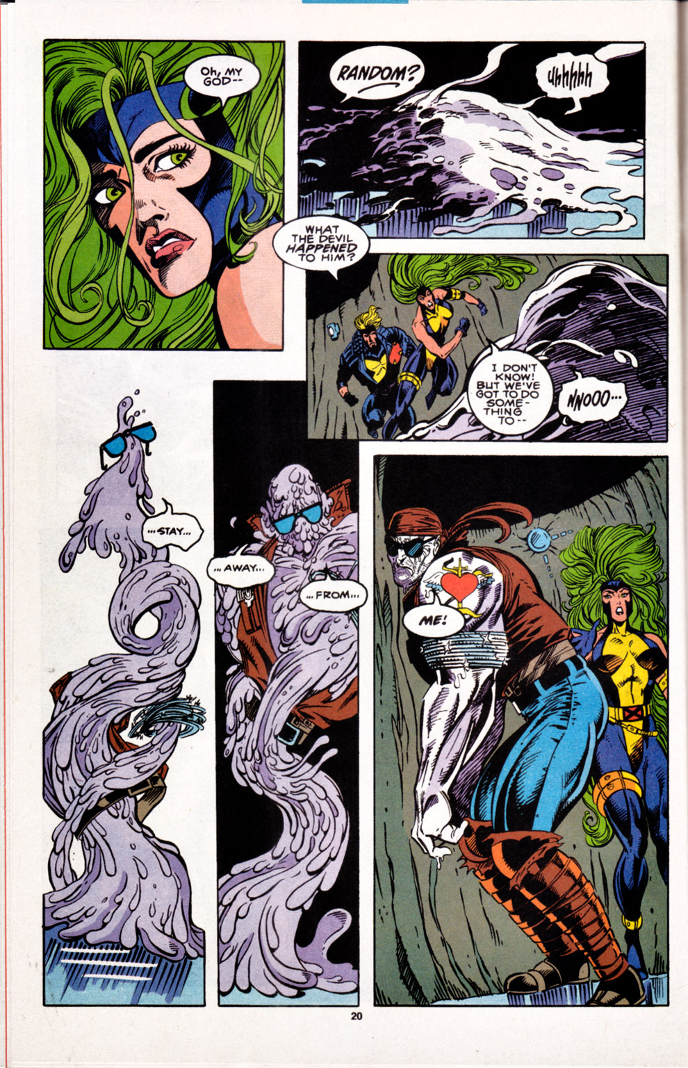 Read online X-Factor (1986) comic -  Issue #100 - 17
