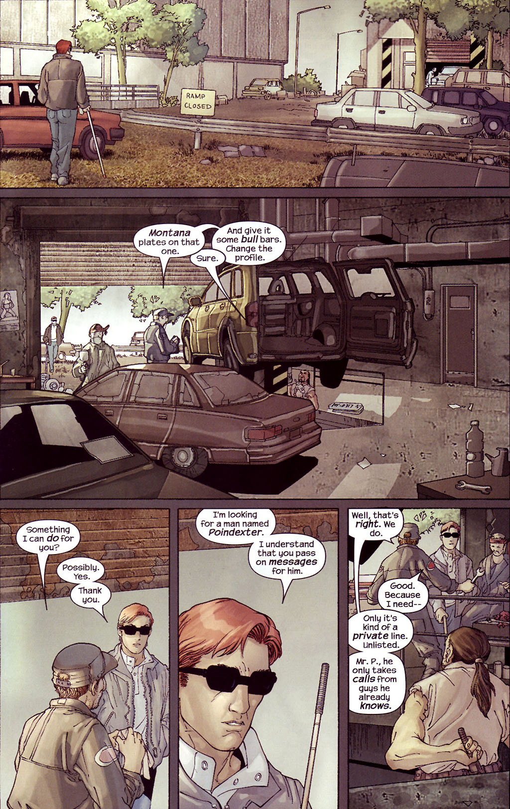 Read online Ultimate Elektra comic -  Issue #4 - 10