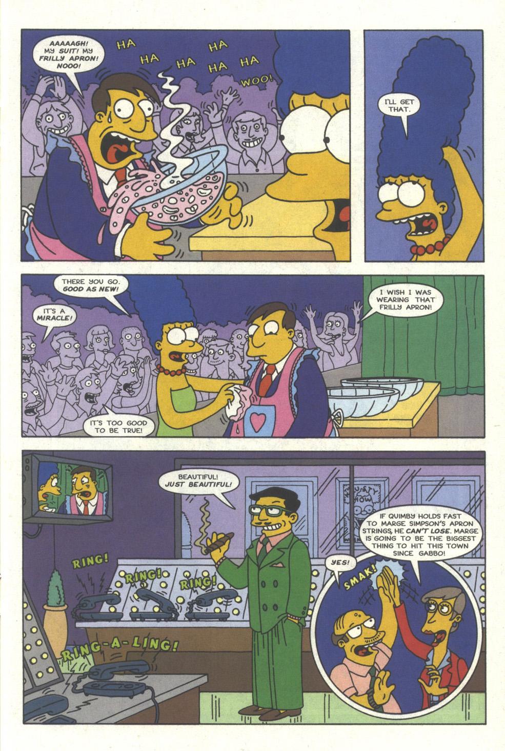 Read online Simpsons Comics comic -  Issue #25 - 14