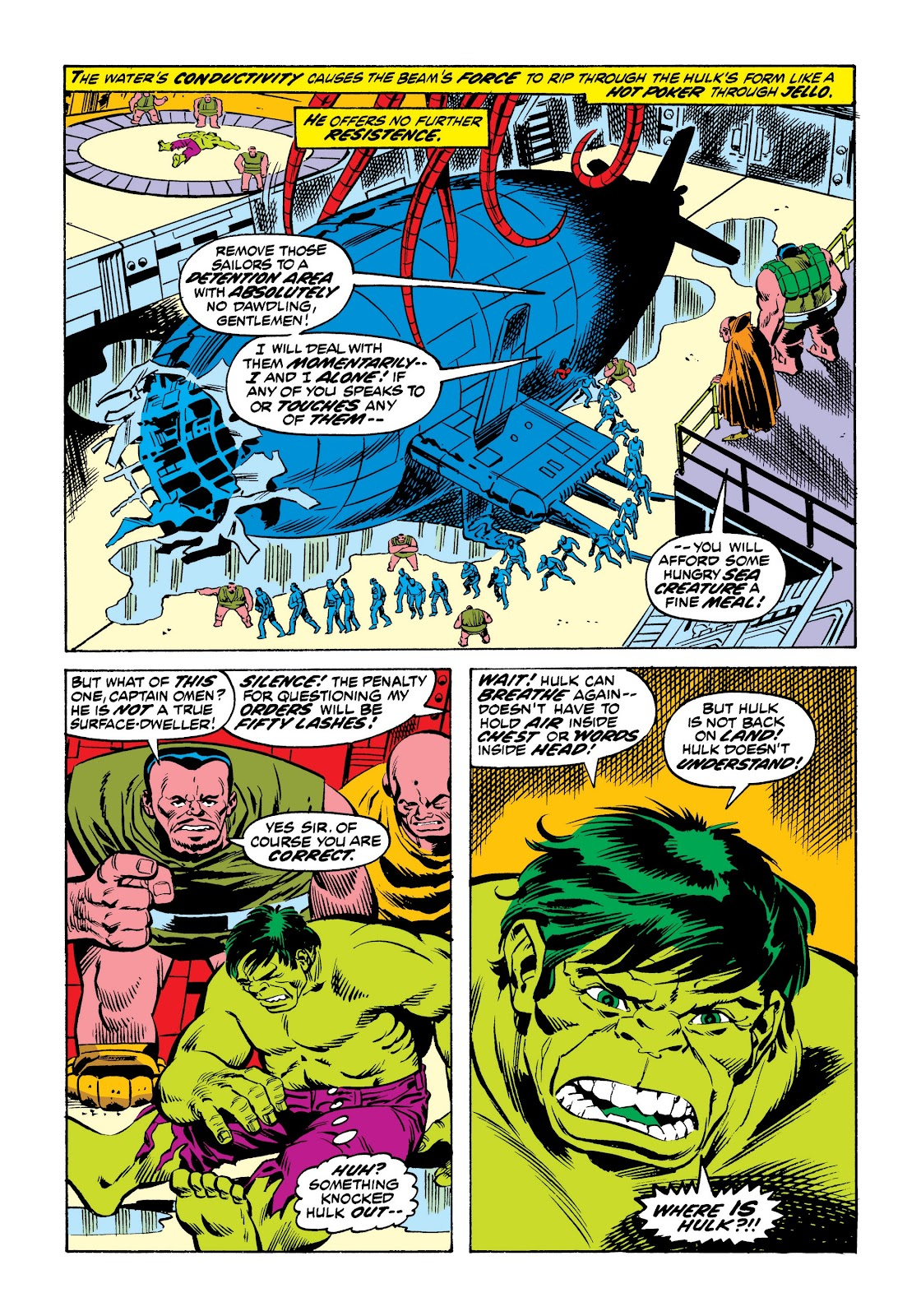 Read online Marvel Masterworks: The Incredible Hulk comic -  Issue # TPB 9 (Part 2) - 63