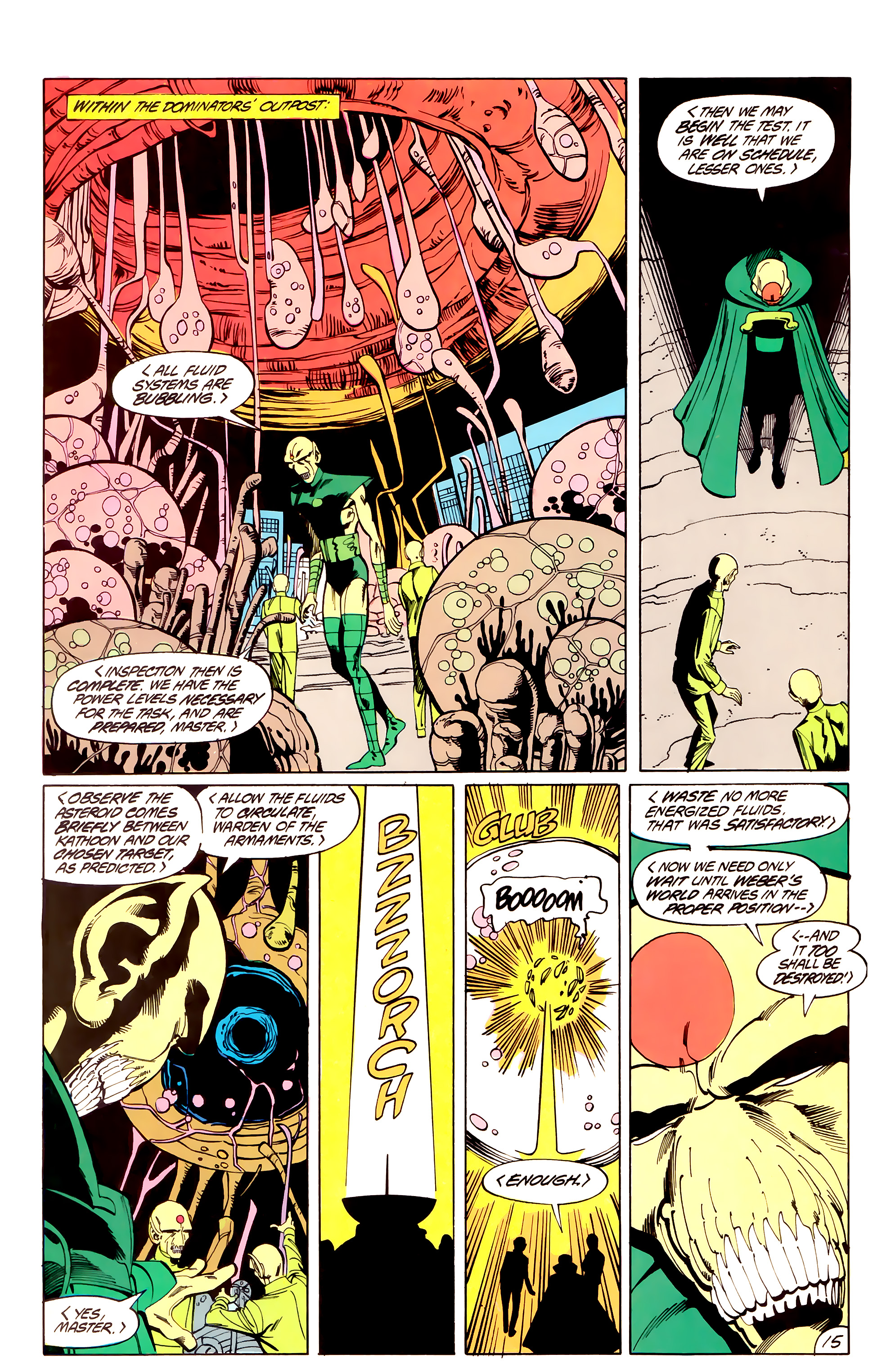 Legion of Super-Heroes (1984) _Annual_3 Page 15