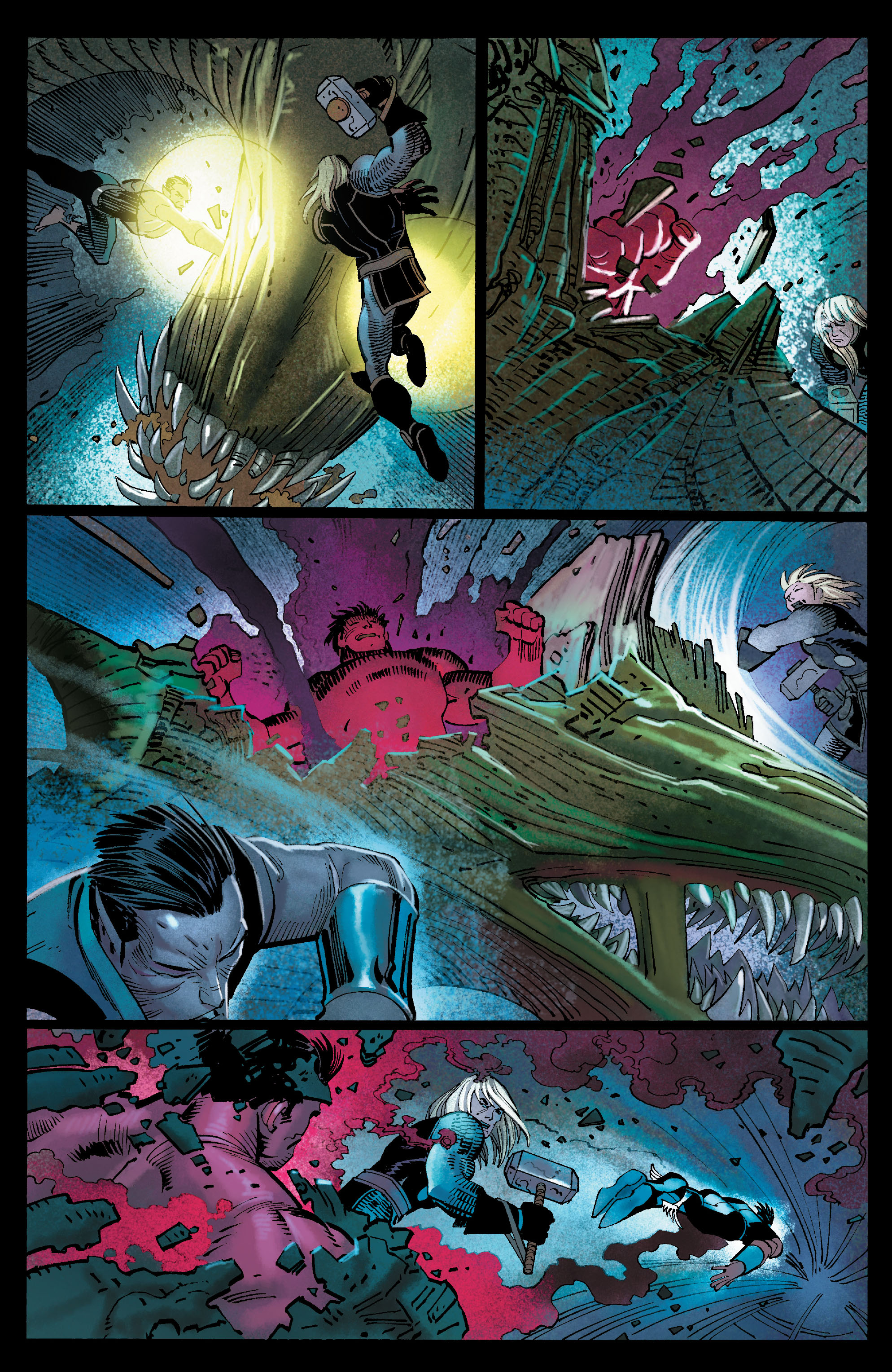 Read online Avengers (2010) comic -  Issue #10 - 7