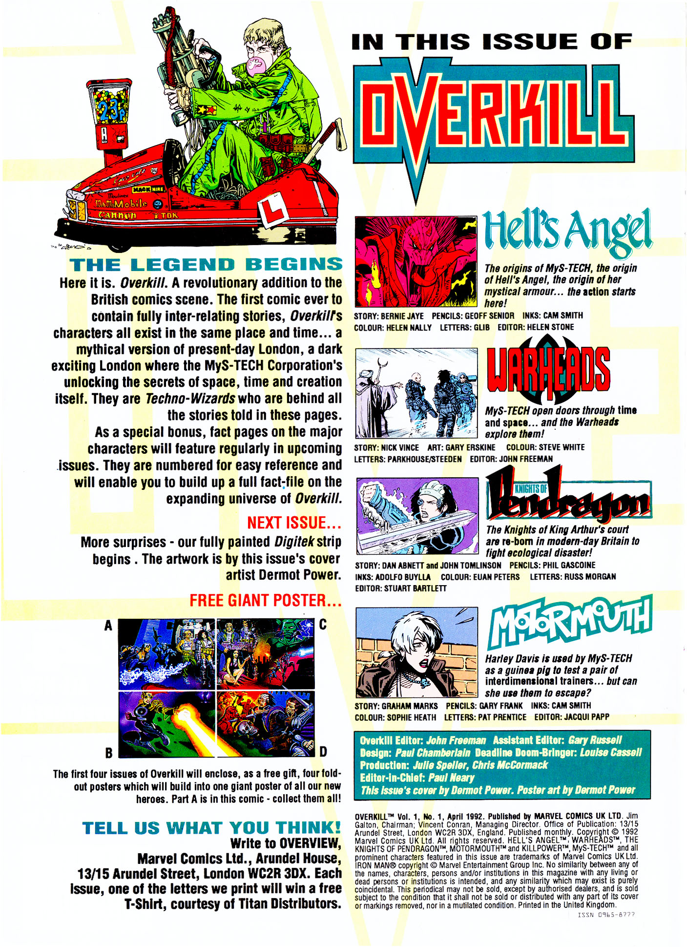 Read online Overkill comic -  Issue #1 - 2