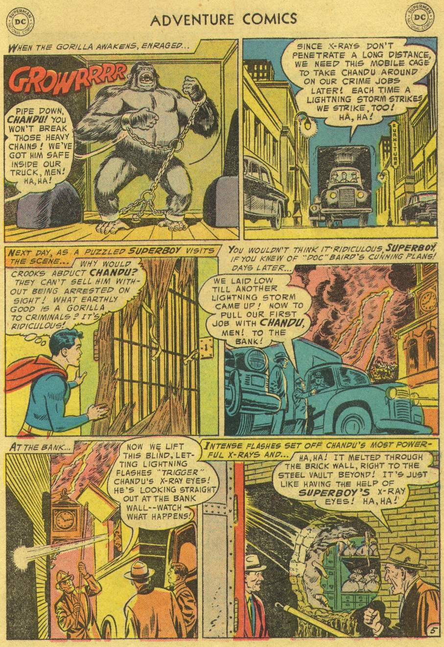 Read online Adventure Comics (1938) comic -  Issue #219 - 7