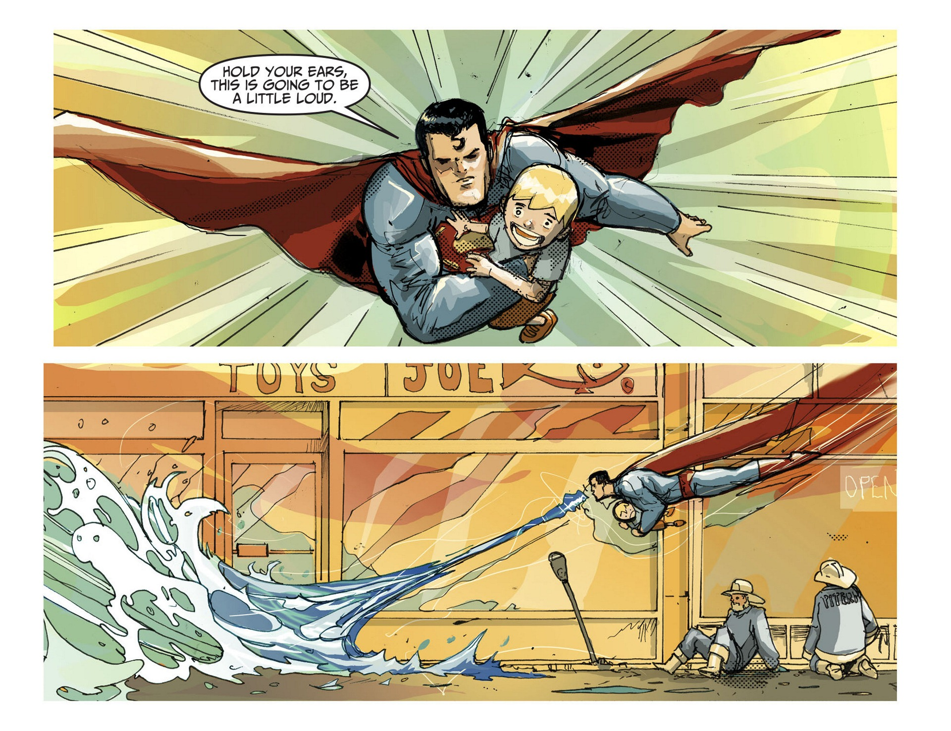 Read online Adventures of Superman [I] comic -  Issue #3 - 9