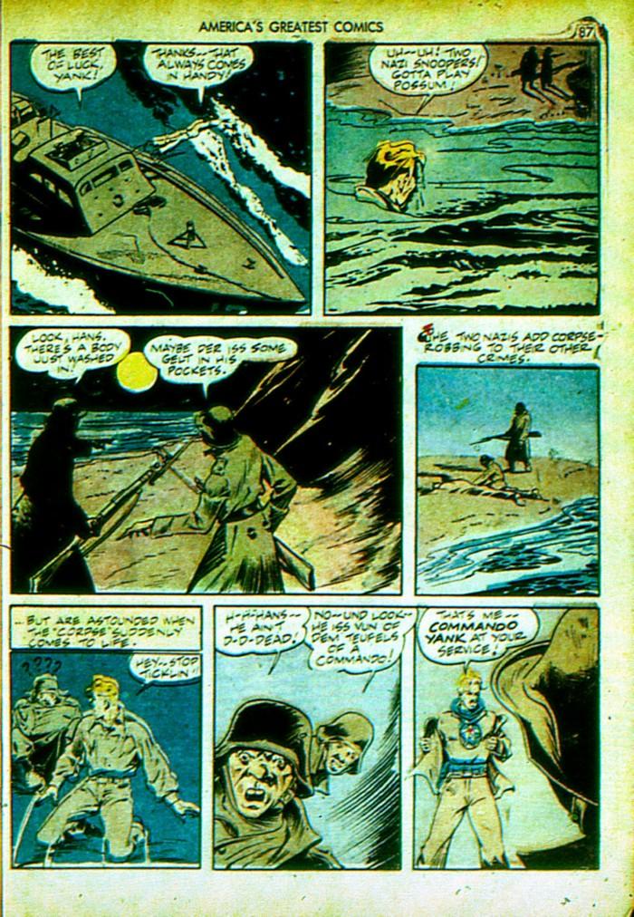 Read online America's Greatest Comics comic -  Issue #4 - 88
