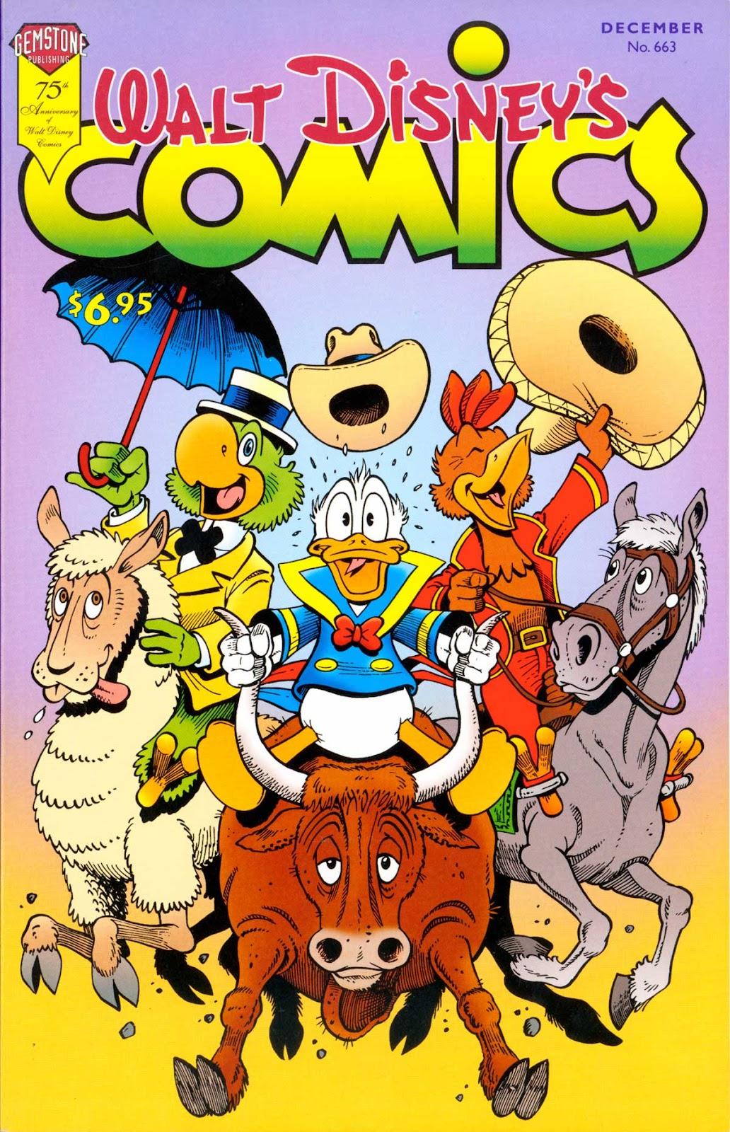 Walt Disneys Comics and Stories 663 Page 1