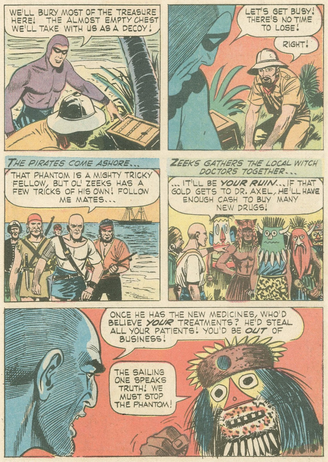 The Phantom (1966) issue 21 - Page 10