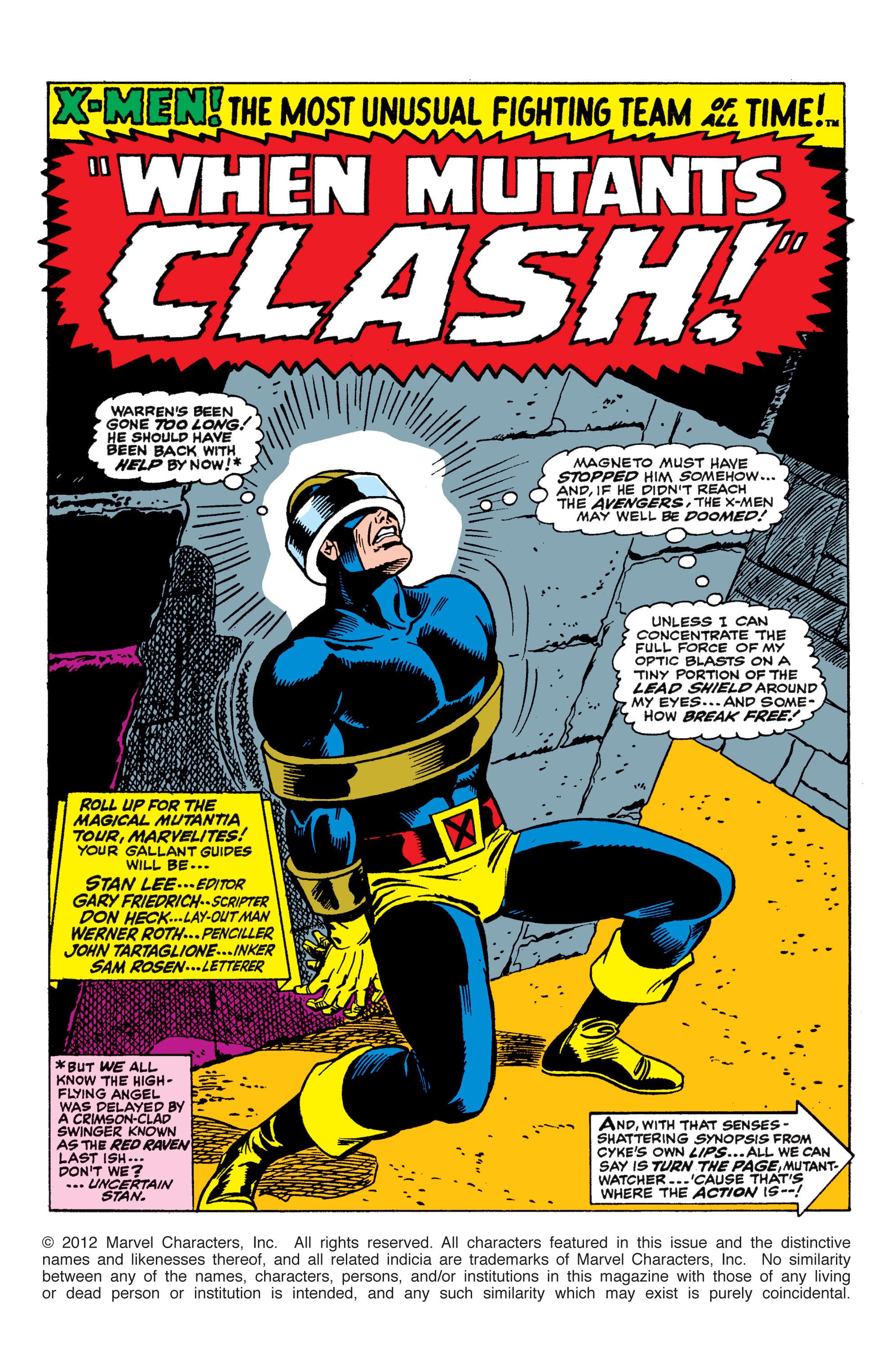 Uncanny X-Men (1963) 45 Page 1