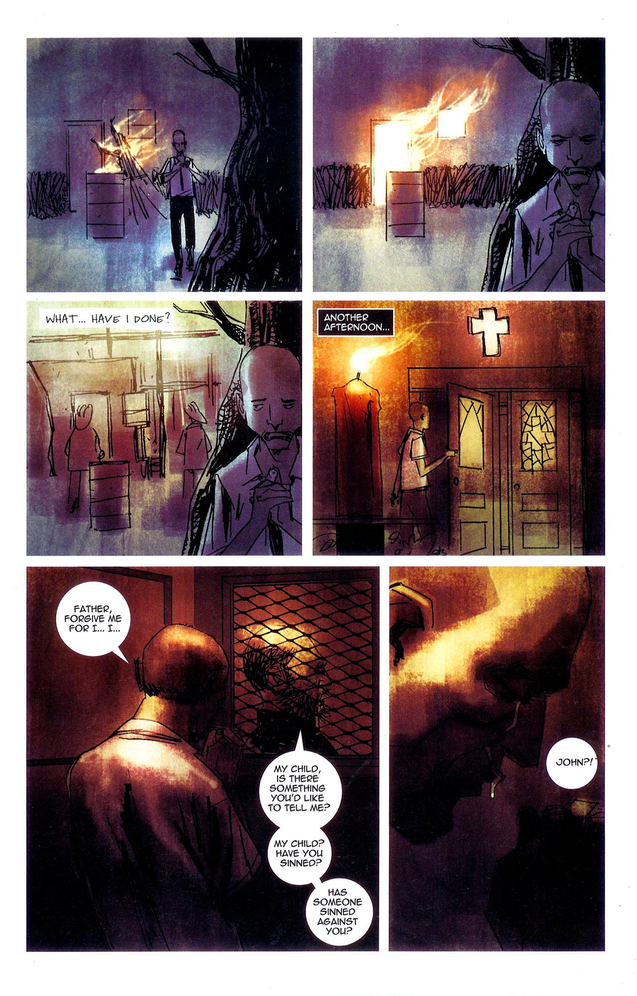 Read online Se7en comic -  Issue #7 - 24