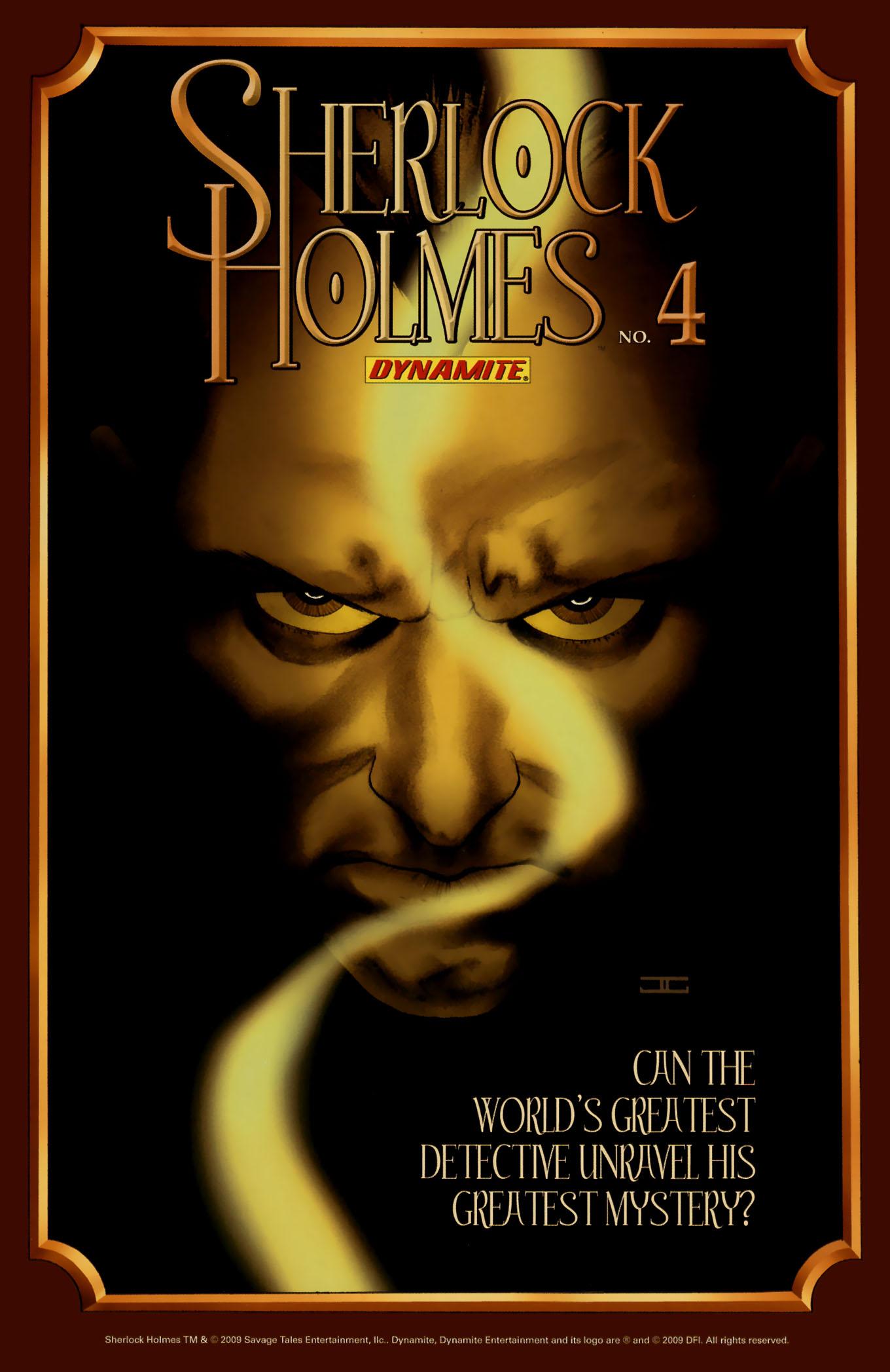 Read online Sherlock Holmes (2009) comic -  Issue #3 - 35