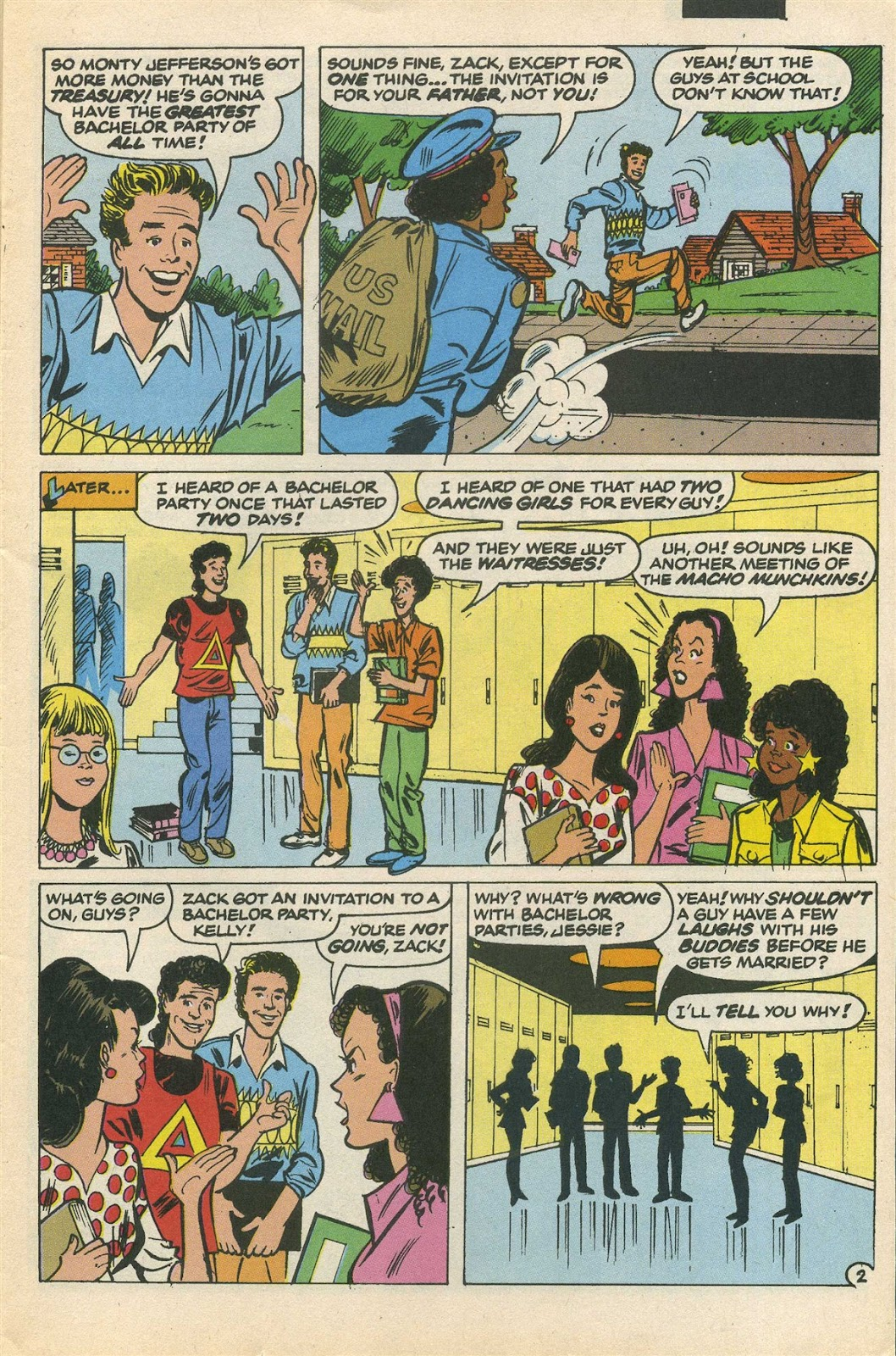 Read online Saved By The Bell comic -  Issue #3 - 5
