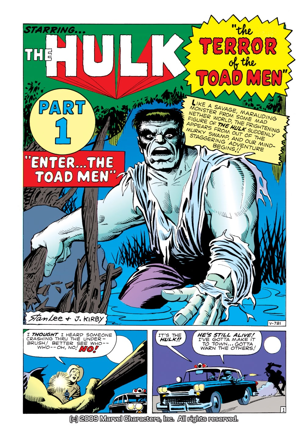 Read online Marvel Masterworks: The Incredible Hulk comic -  Issue # TPB 1 (Part 1) - 29