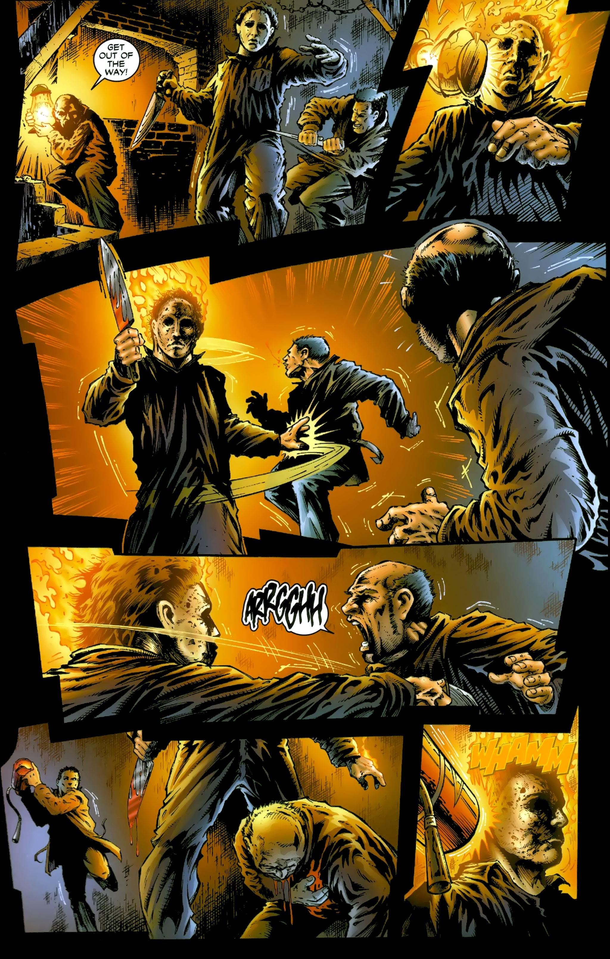 Read online Halloween II: The Blackest Eyes comic -  Issue # Full - 22