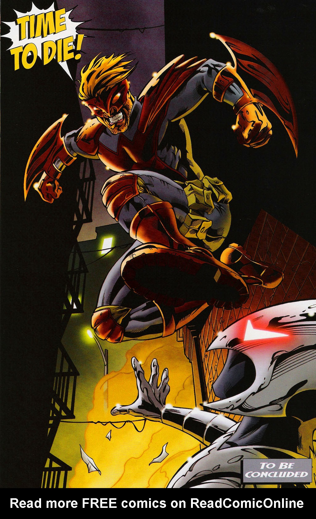 Read online ShadowHawk (2005) comic -  Issue #3 - 24