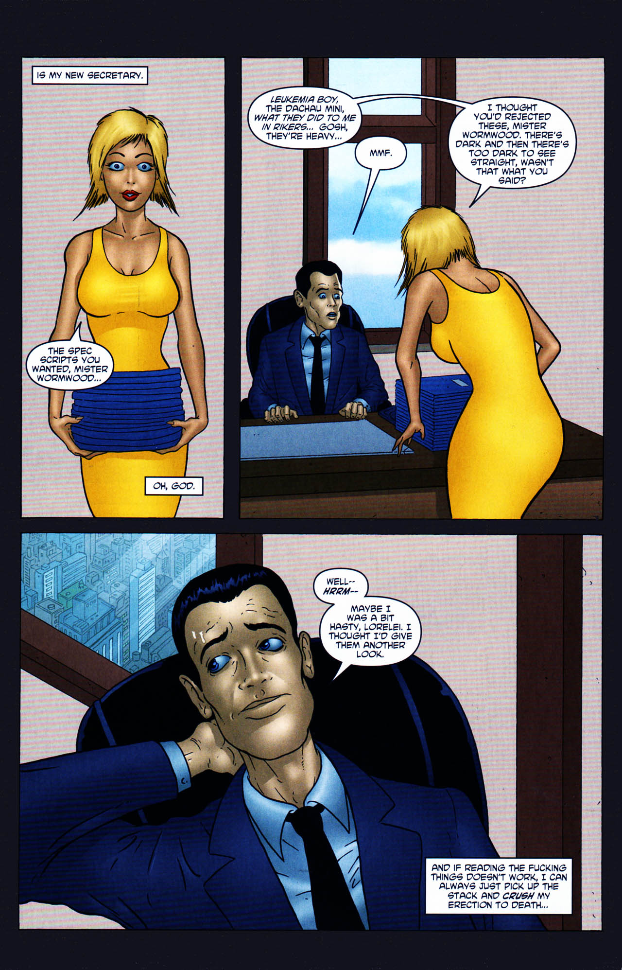 Read online Chronicles of Wormwood: The Last Enemy comic -  Issue # Full - 6
