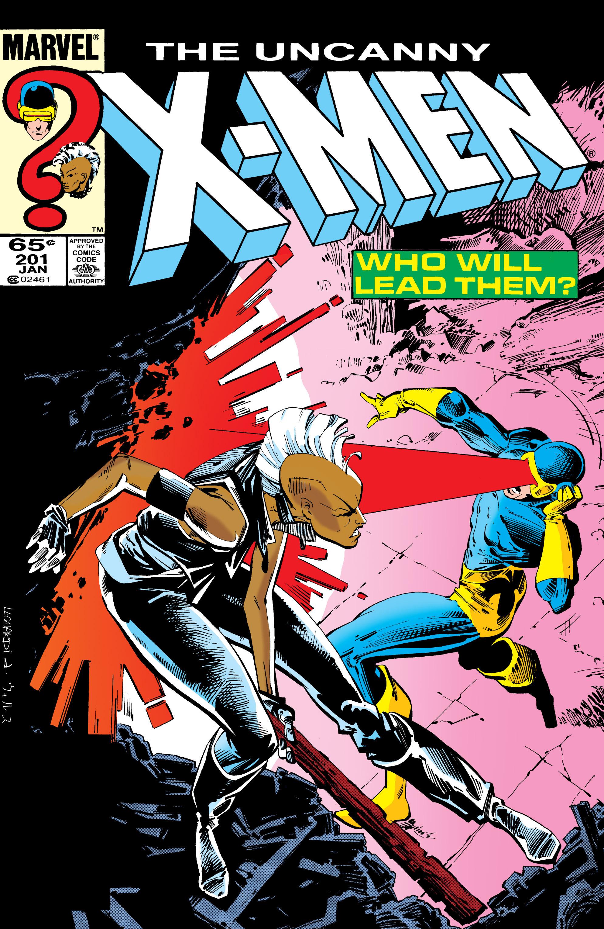Uncanny X-Men (1963) 201 Page 1