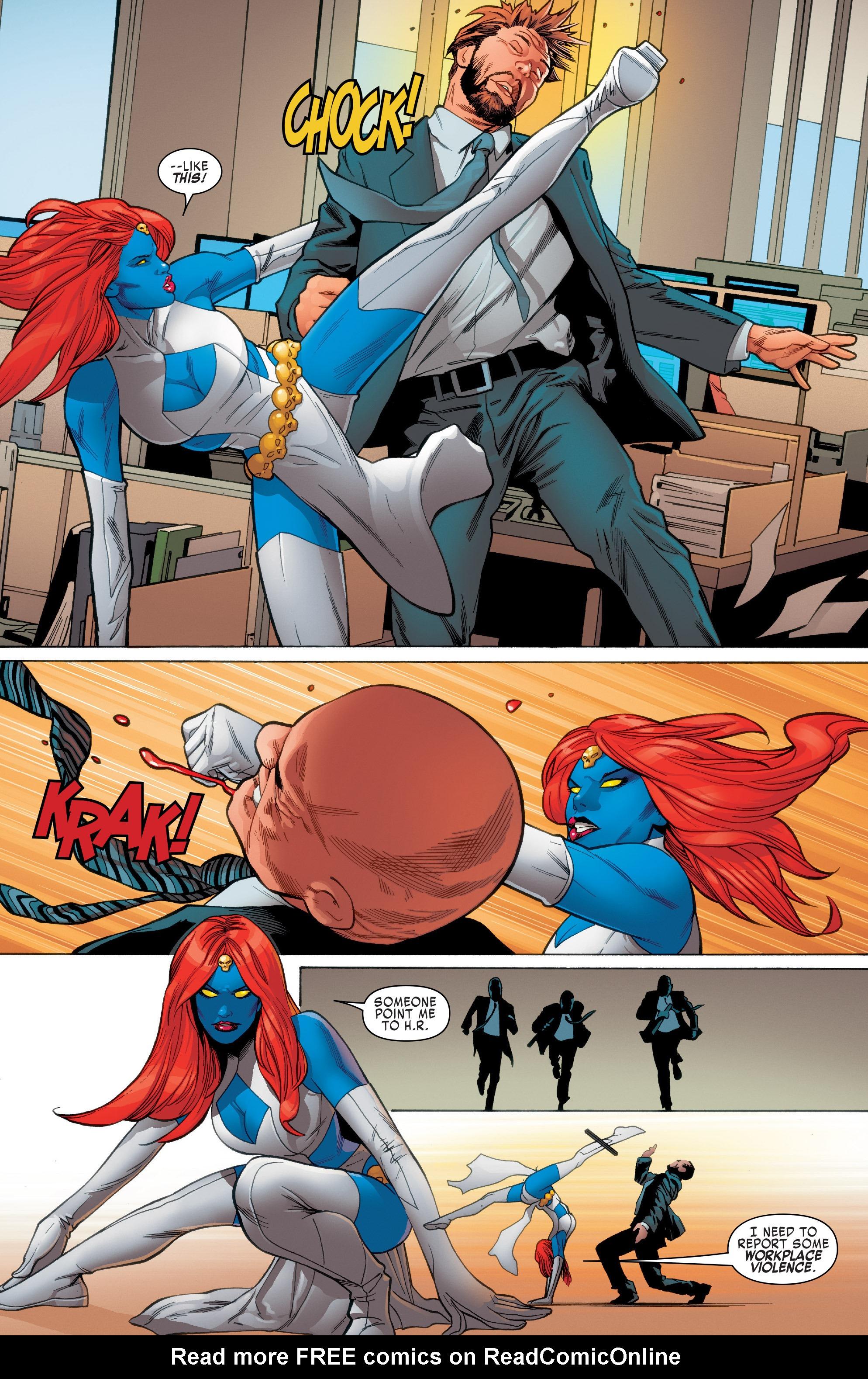 Read online Uncanny X-Men (2016) comic -  Issue #2 - 4