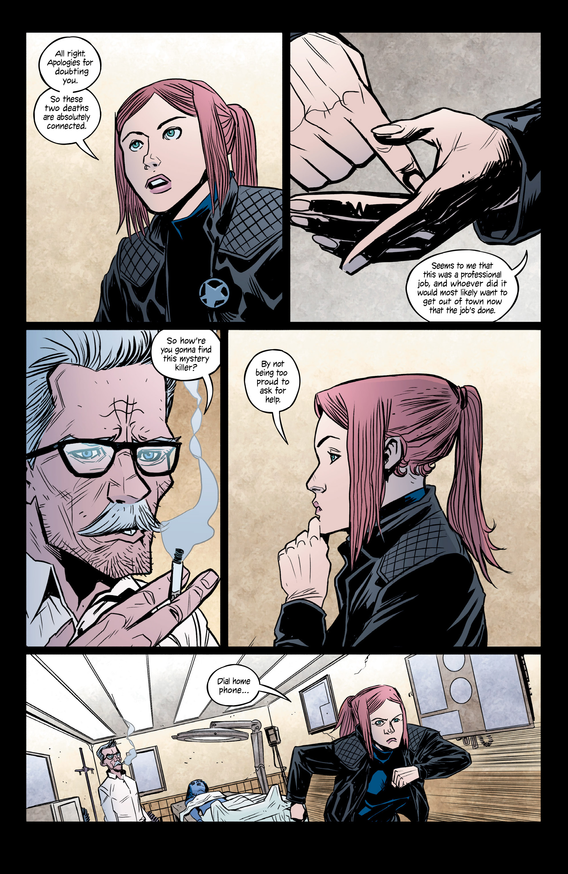 Read online Copperhead comic -  Issue #14 - 6