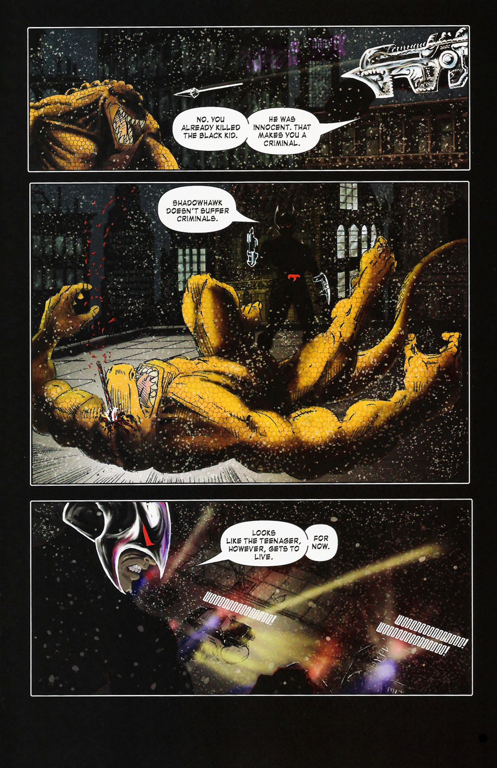 Read online ShadowHawk (2005) comic -  Issue #9 - 23
