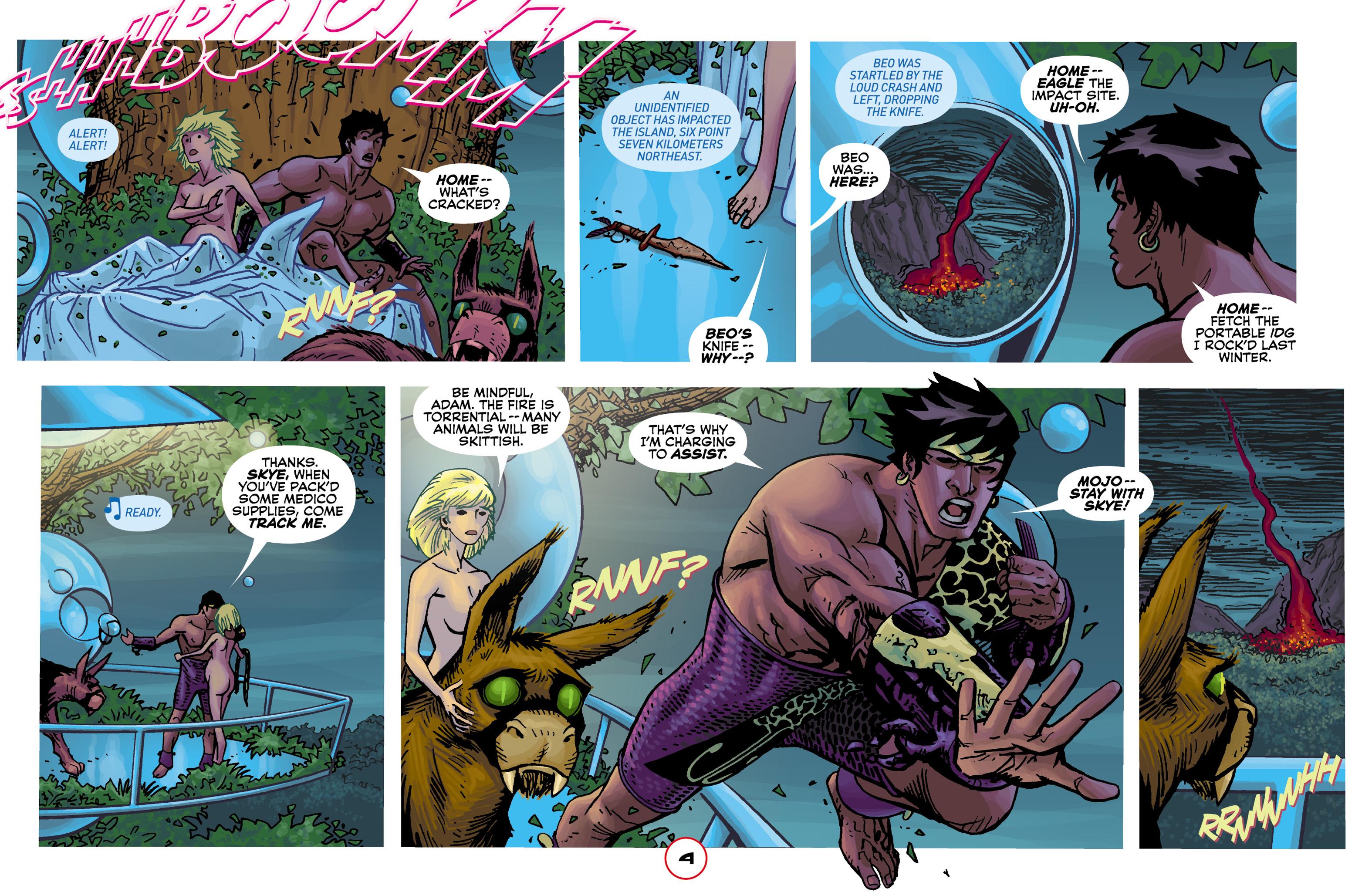 Read online Adam.3 comic -  Issue #2 - 6