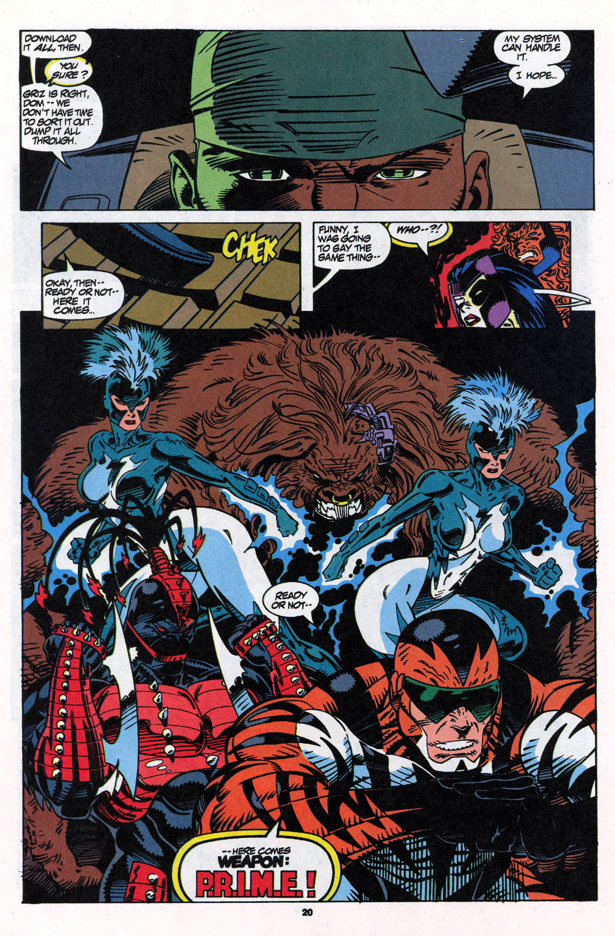 Read online X-Force (1991) comic -  Issue #22 - 21